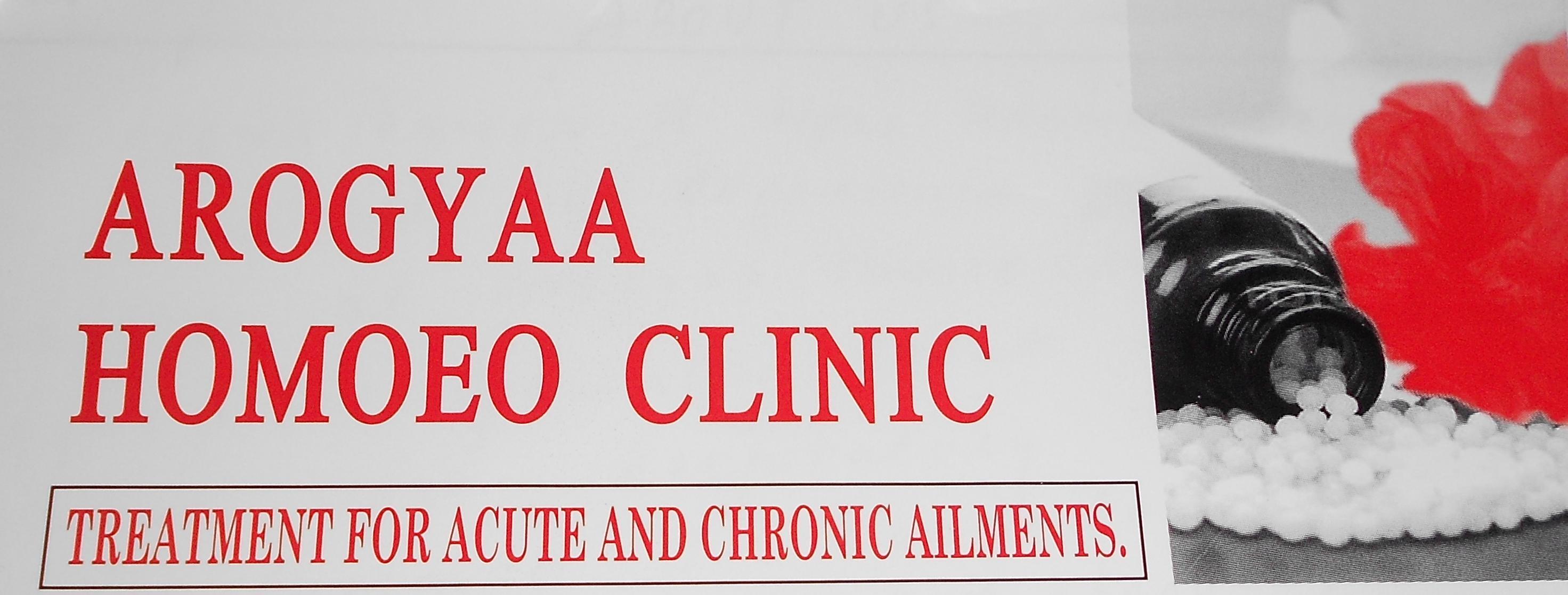 Arogyaa Homoeo Super Specialty Clinic for Children & Women