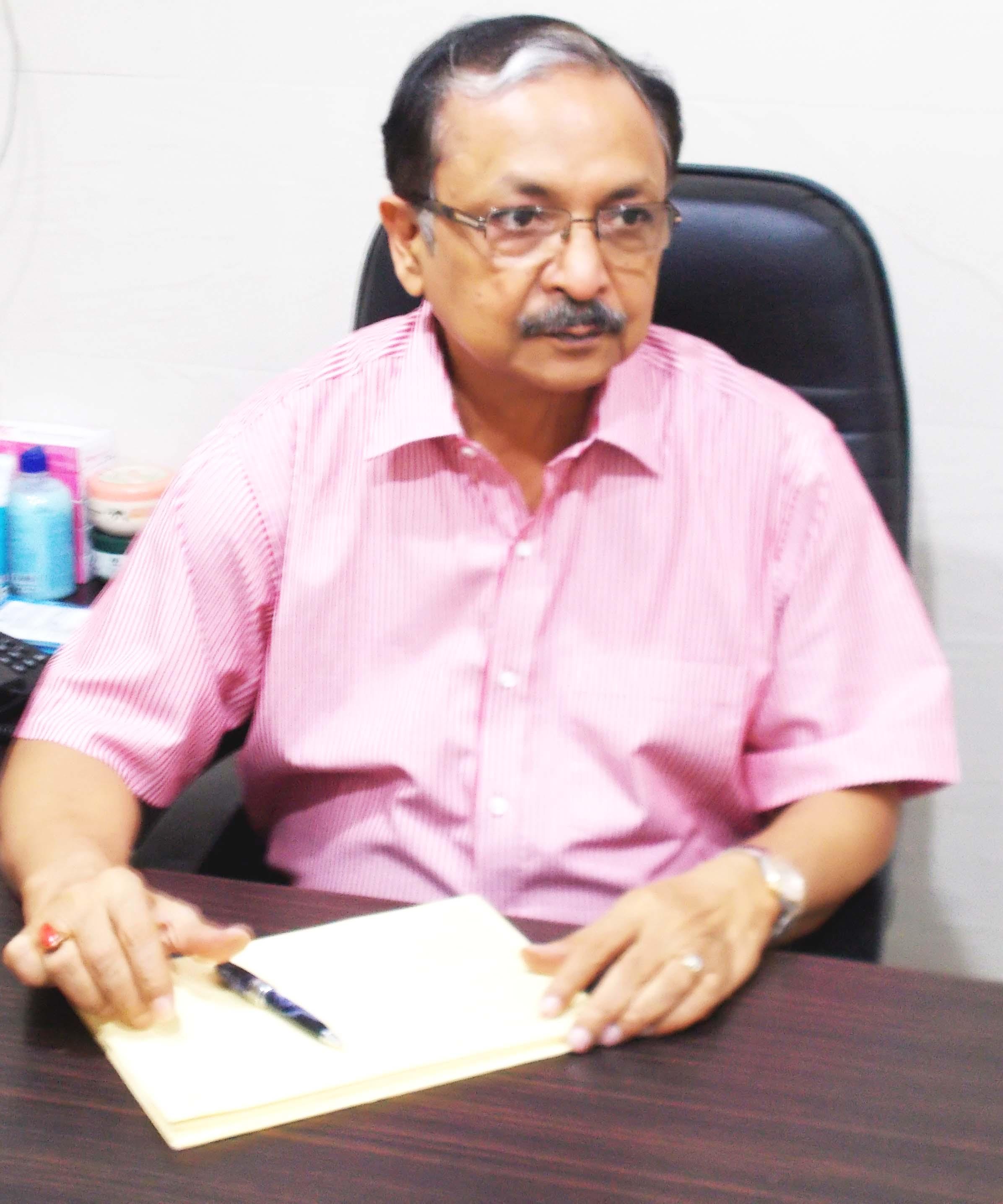 Dr. (Sqn.Ldr) V.K. Upadhyaya - Dermatologist
