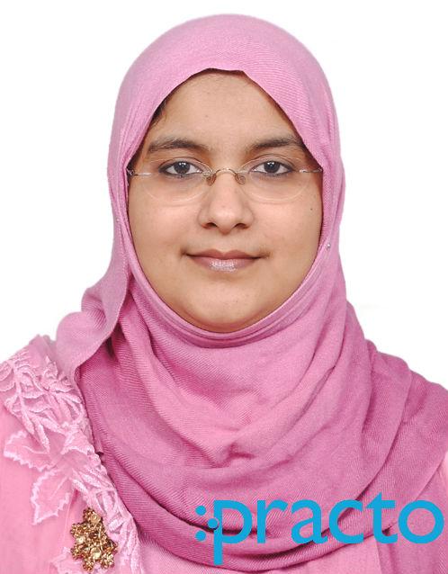 Dr. Rukshana - Gynecologist/Obstetrician