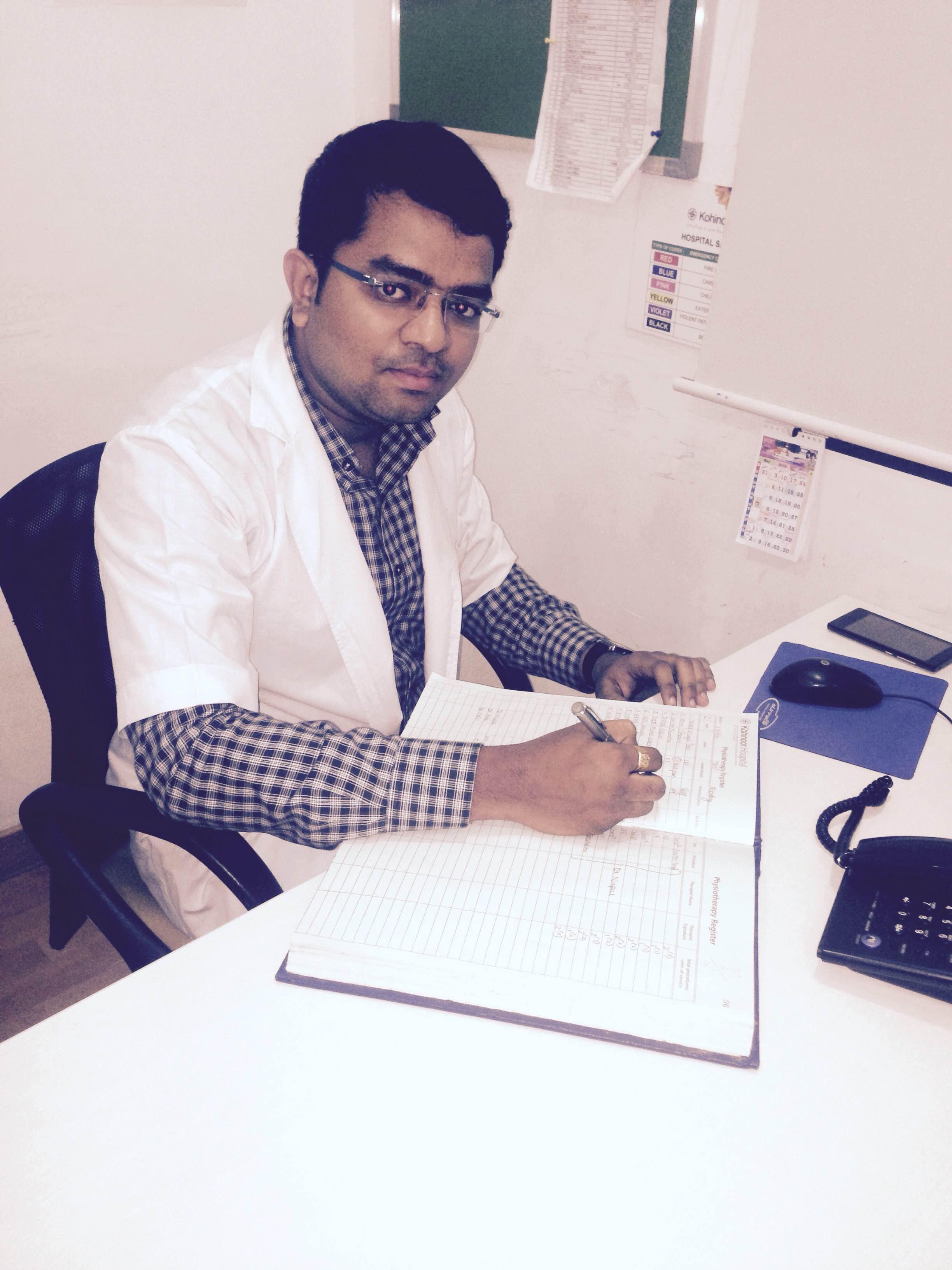 Dr. Yogesh Shinde - Physiotherapist