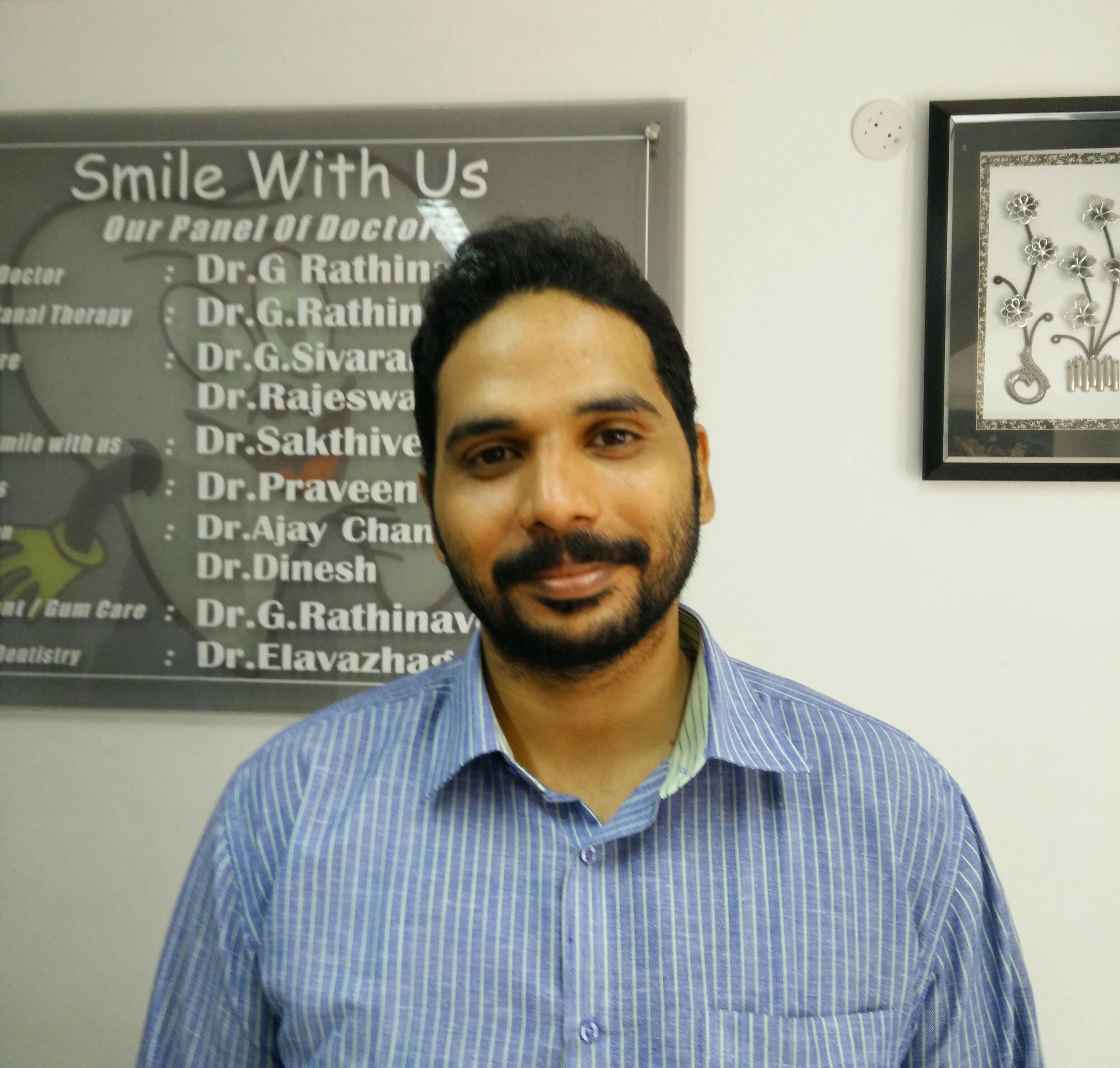 Dr. G.Rathnavelu - Dentist