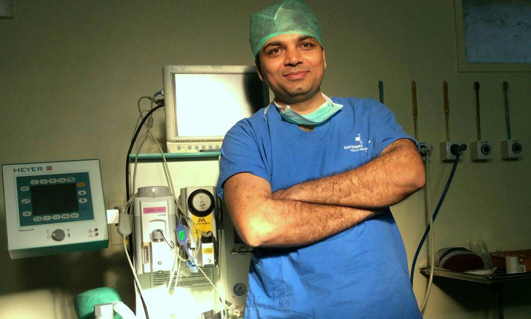 Dr. Latif Bagwan - GastroIntestinal Surgeon