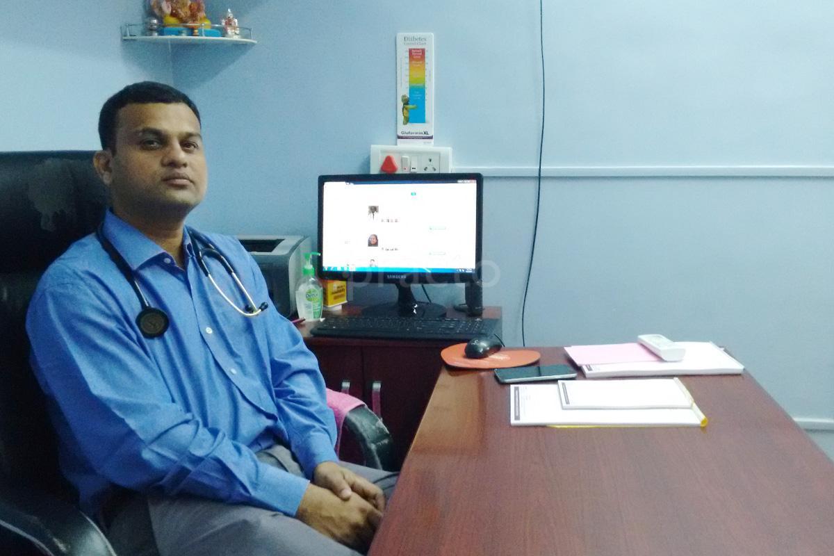 diabetologist near joshi vadewale in wakadewadi pune practo