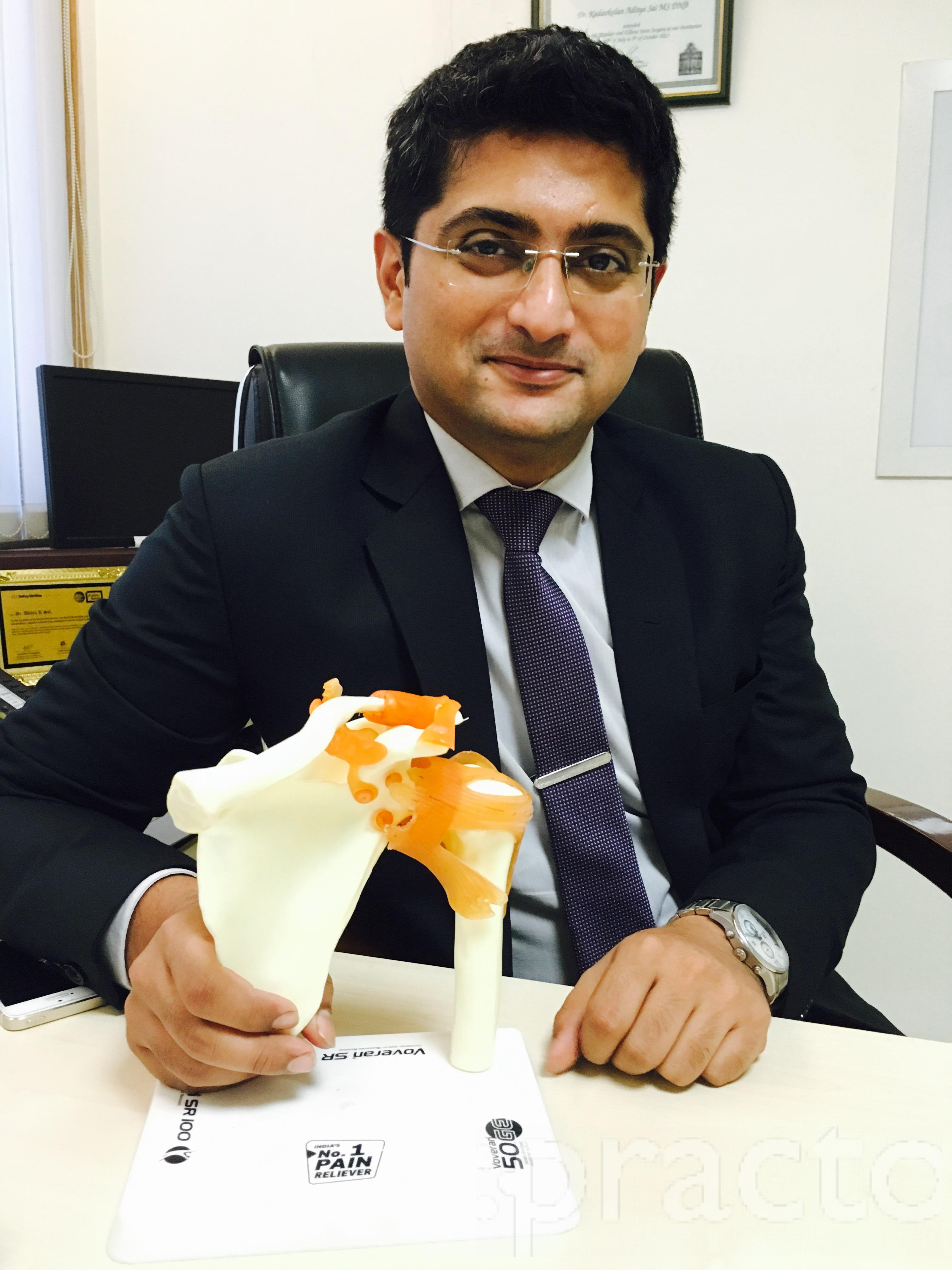 Dr. Aditya Sai Kadavkolan - Orthopedist