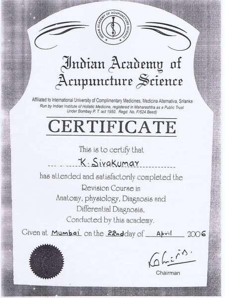 Dr  Sivakumar K - Alternative Medicine - Book Appointment Online