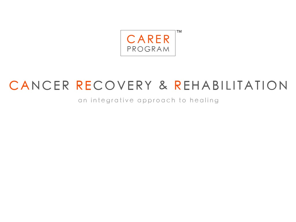 Carer Program Cancer Recovery & Rehabilitation Center