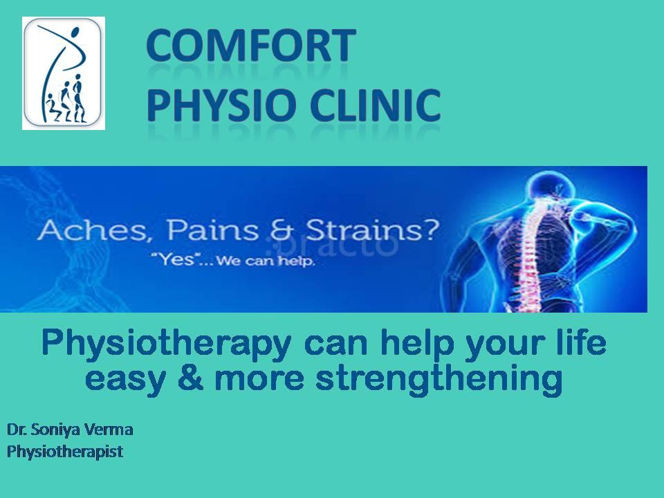 Comfort Physio Clinic, Physiotherapy Clinic in Raj Nagar