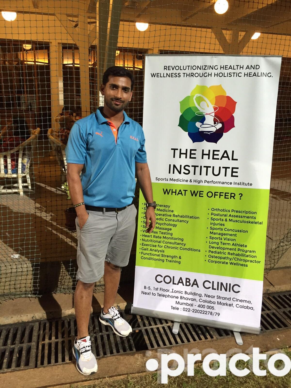 Dr. Manish Singh - Physiotherapist