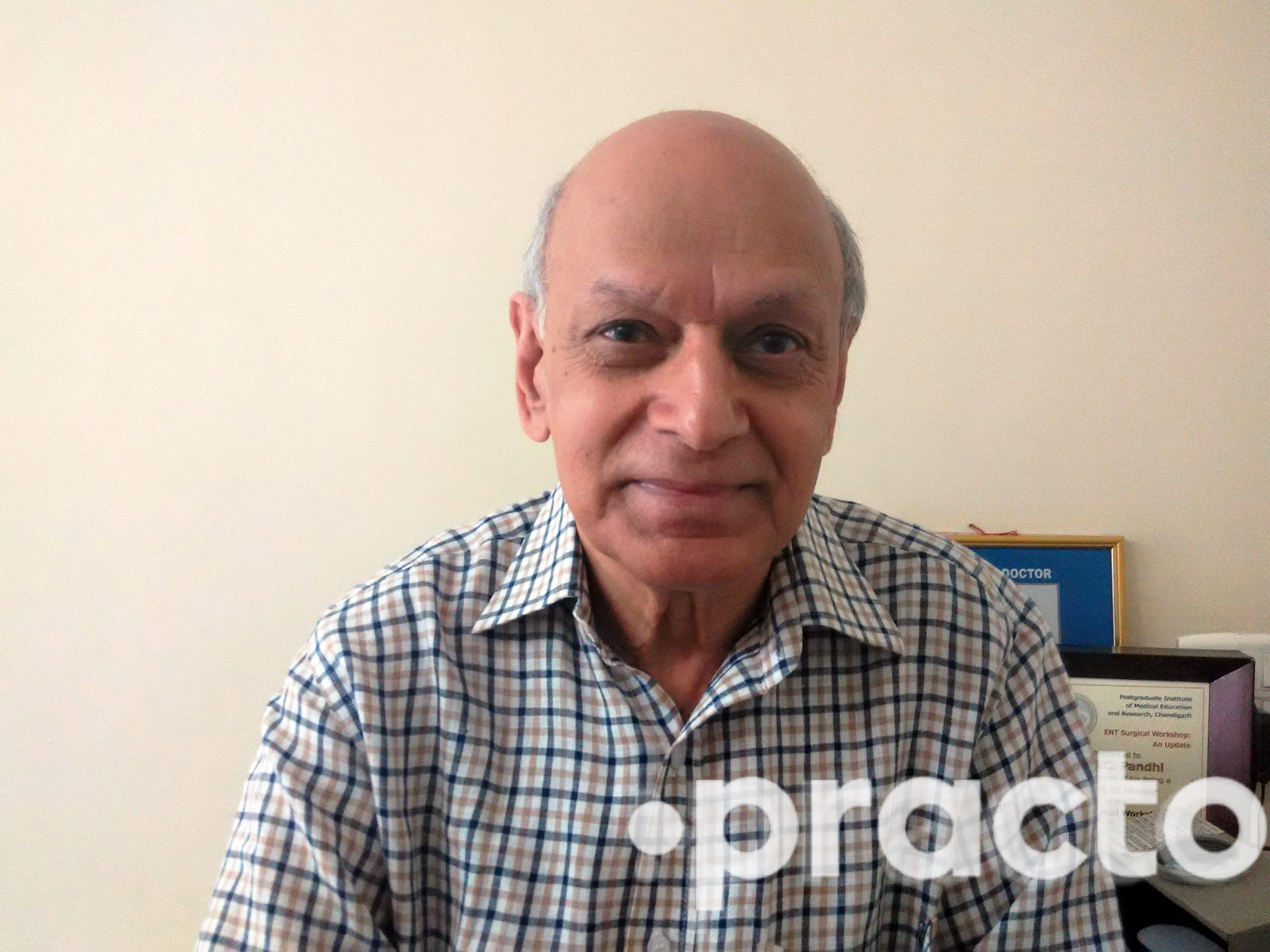 Dr. S C Pandhi - Ear-Nose-Throat (ENT) Specialist