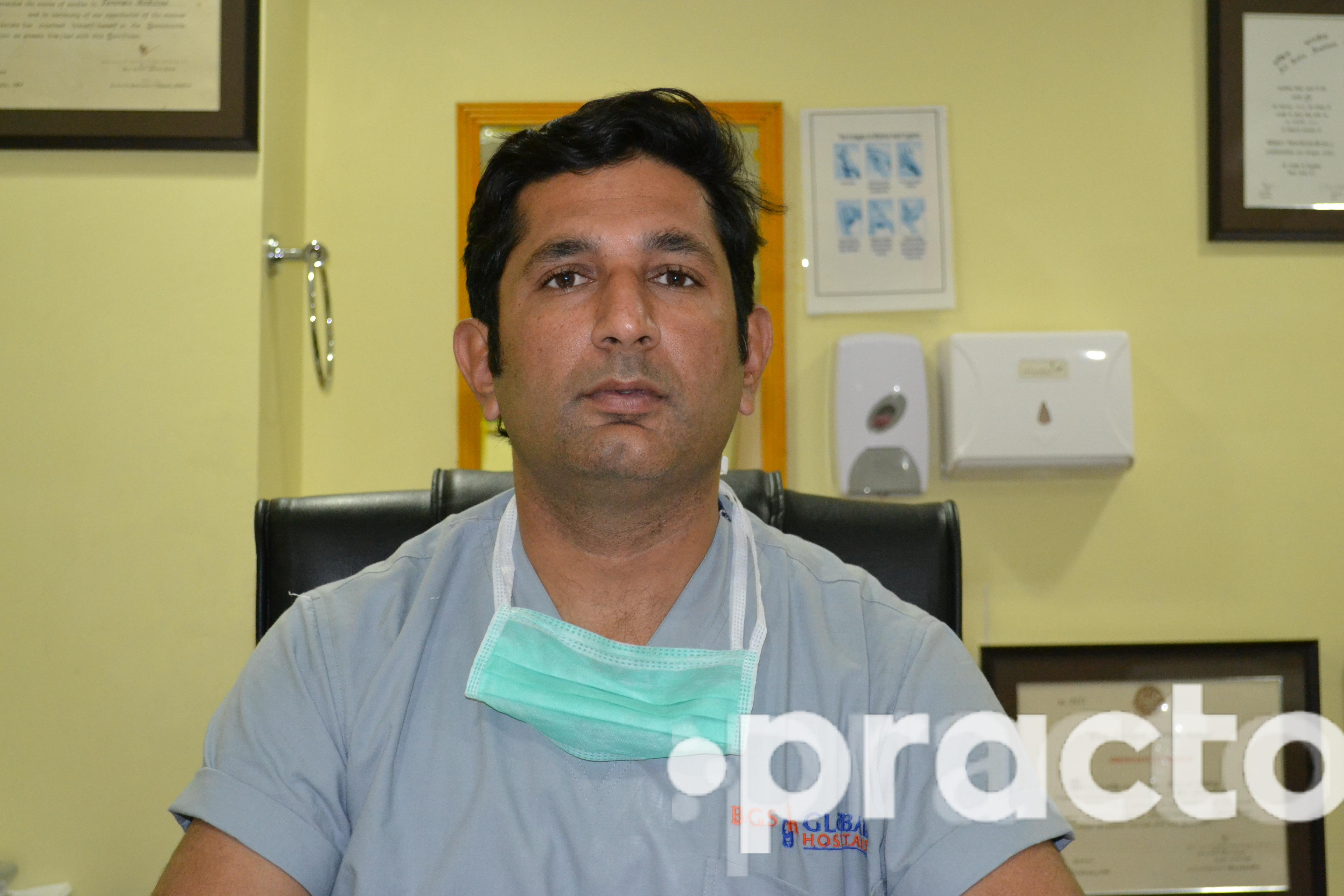 Dr. Bharat Dubey - Cardiothoracic Surgeon