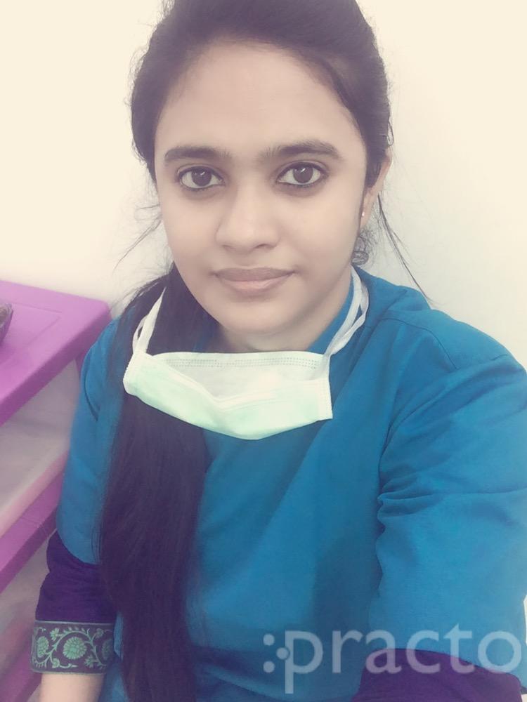Dr. Aishwaryaa Mahesh - Dentist