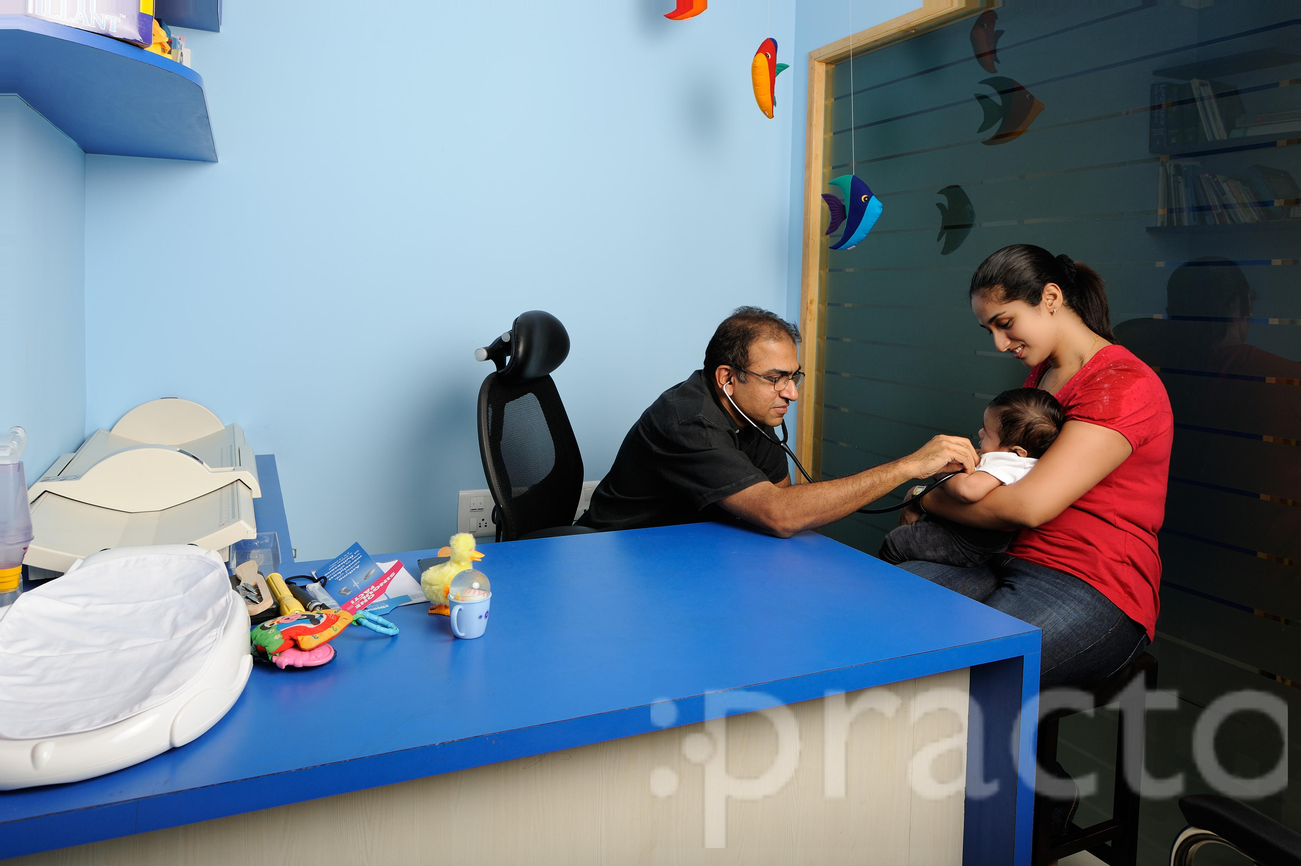 Dr. Anand K M - Pediatrician