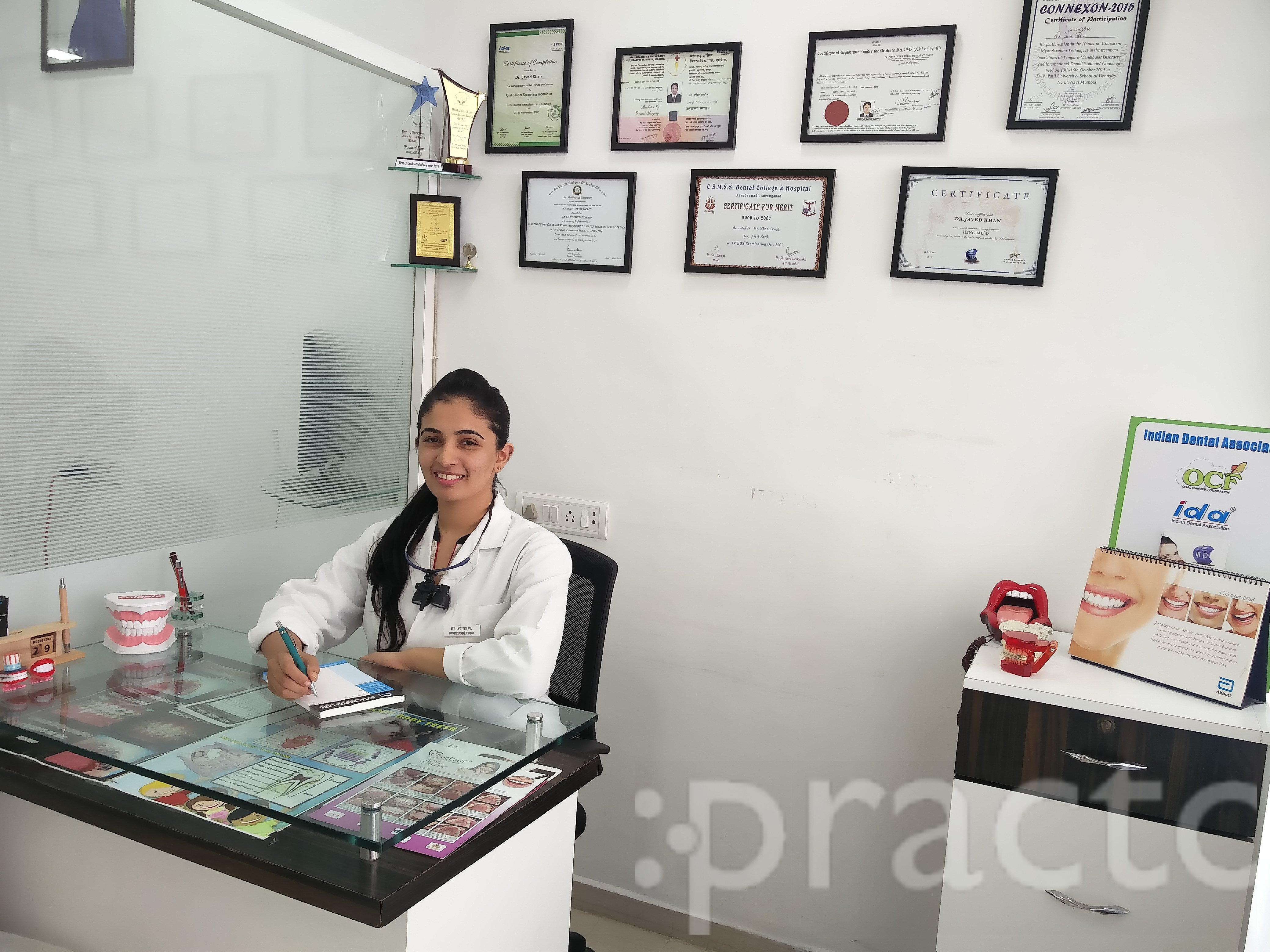 Dr. Athulya Dinesh - Dentist