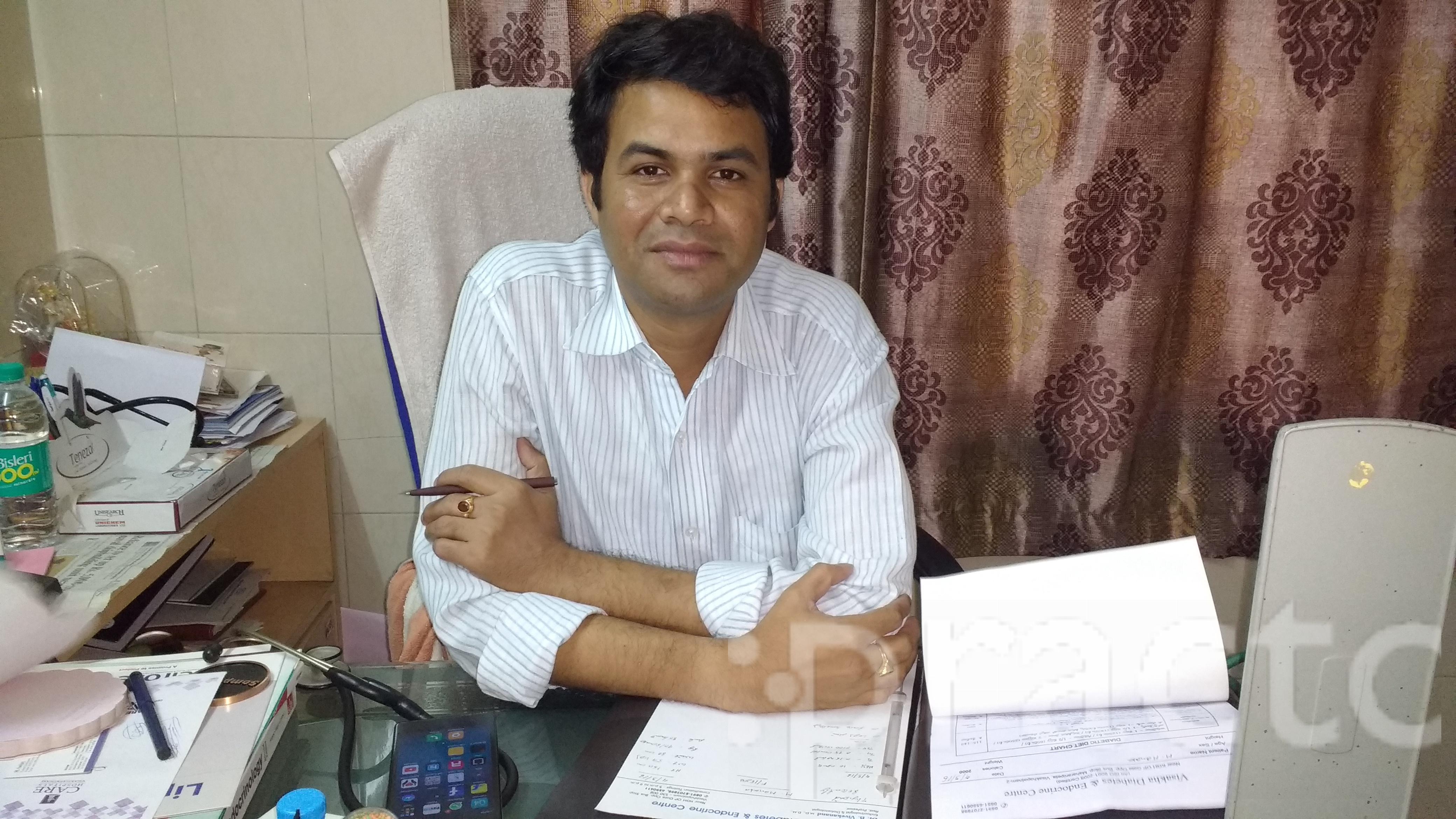 Dr. B. Vivekananda - Endocrinologist