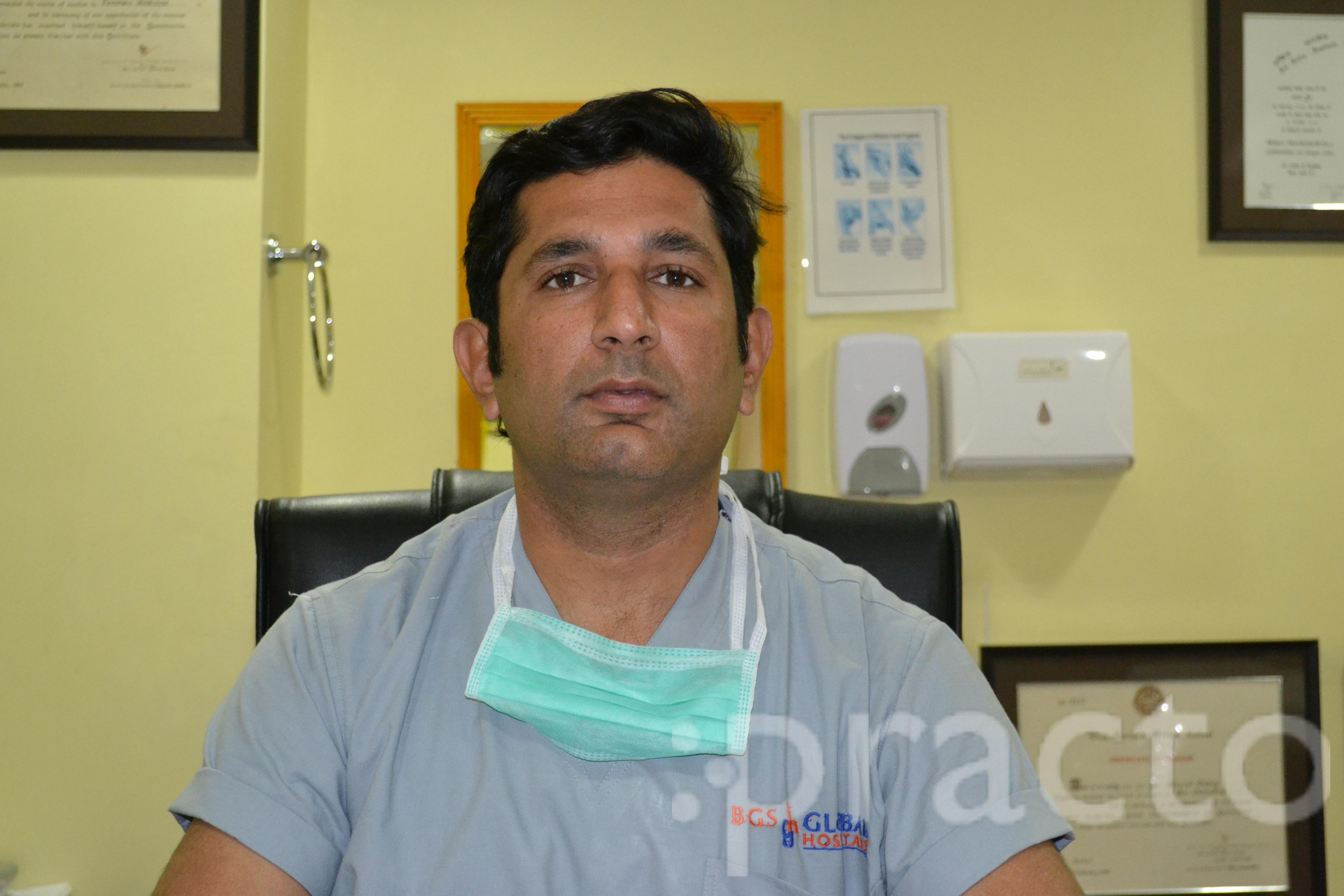 Dr. Bharat Dubey - Cardiothoracic Surgeon