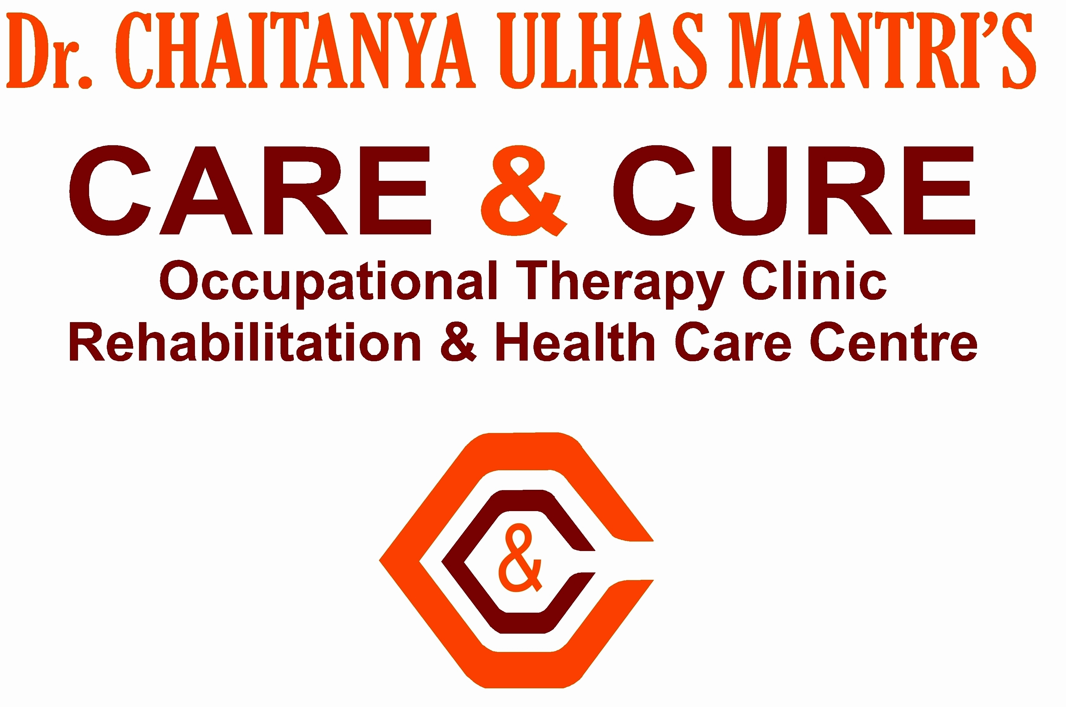 Dr.Chaitanya Ulhas Mantri's Care & Cure  Occupational Therapy Clinic Rehabilitation & Health Care Centre