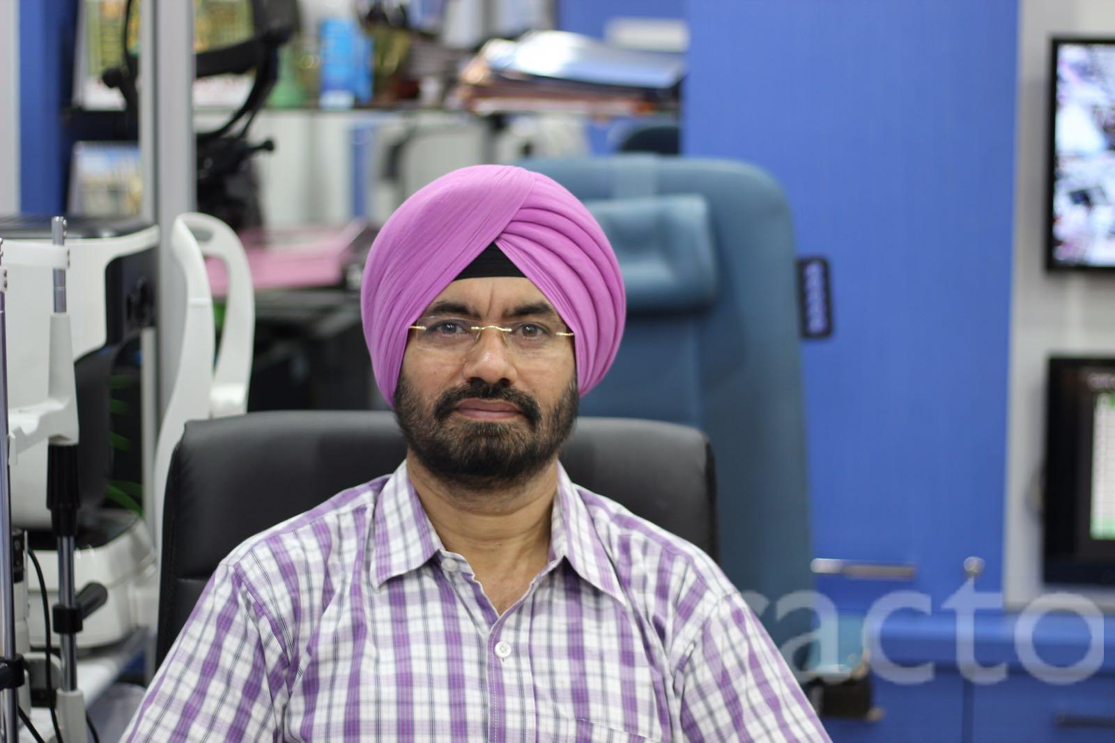 Dr. Charan Kamal Singh - Ophthalmologist