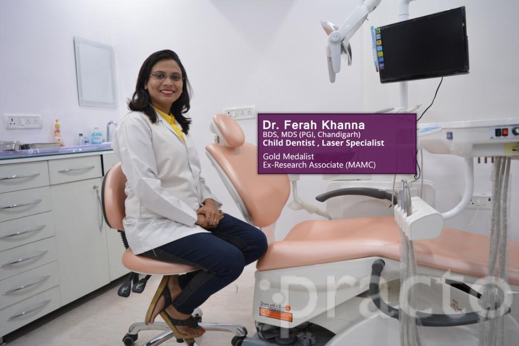 Dr. Ferah Khanna - Dentist