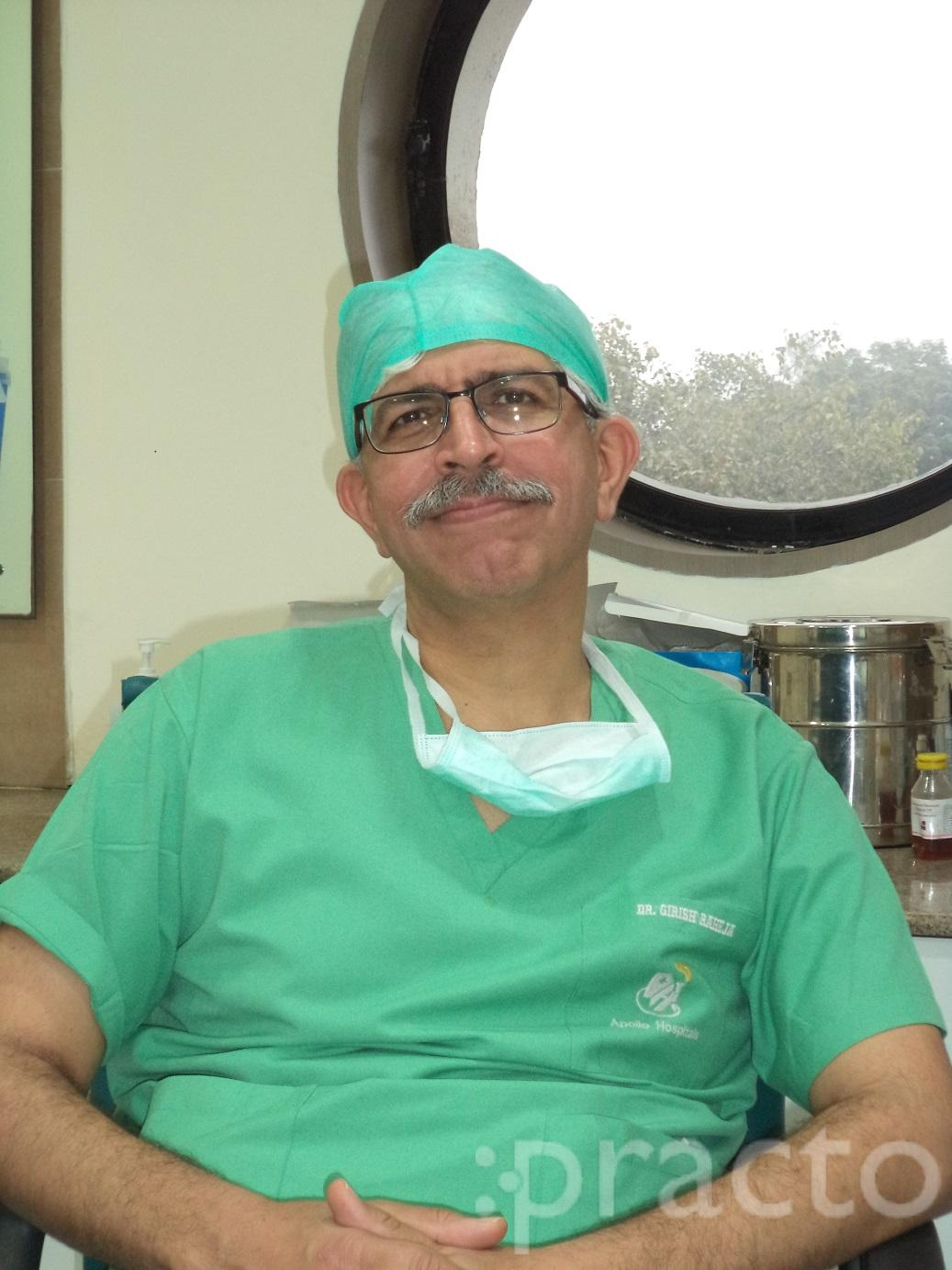 Dr. Girish Raheja - Ear-Nose-Throat (ENT) Specialist