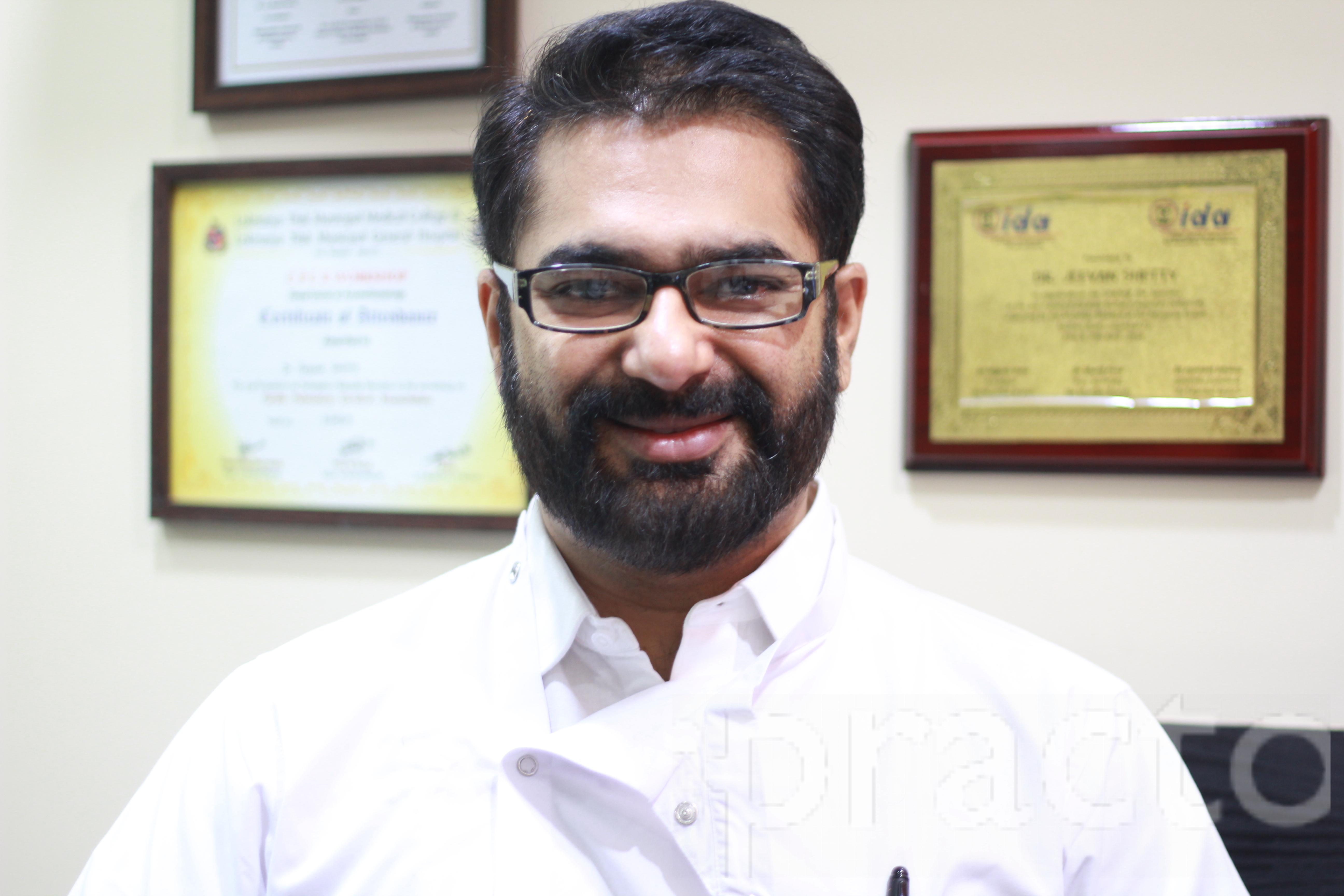 Dr. Jeevan Shetty - Dentist