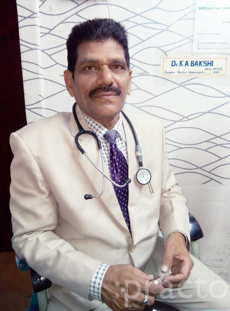 Dr. K.A. Bakshi - Homeopath