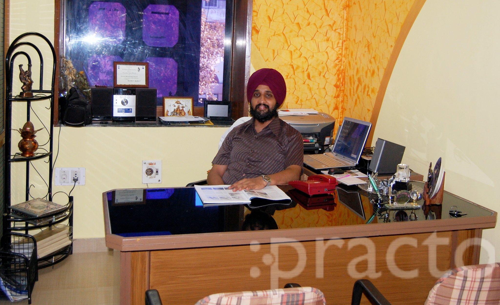 Dr. Karamdeep Singh Ahluwalia - Dentist