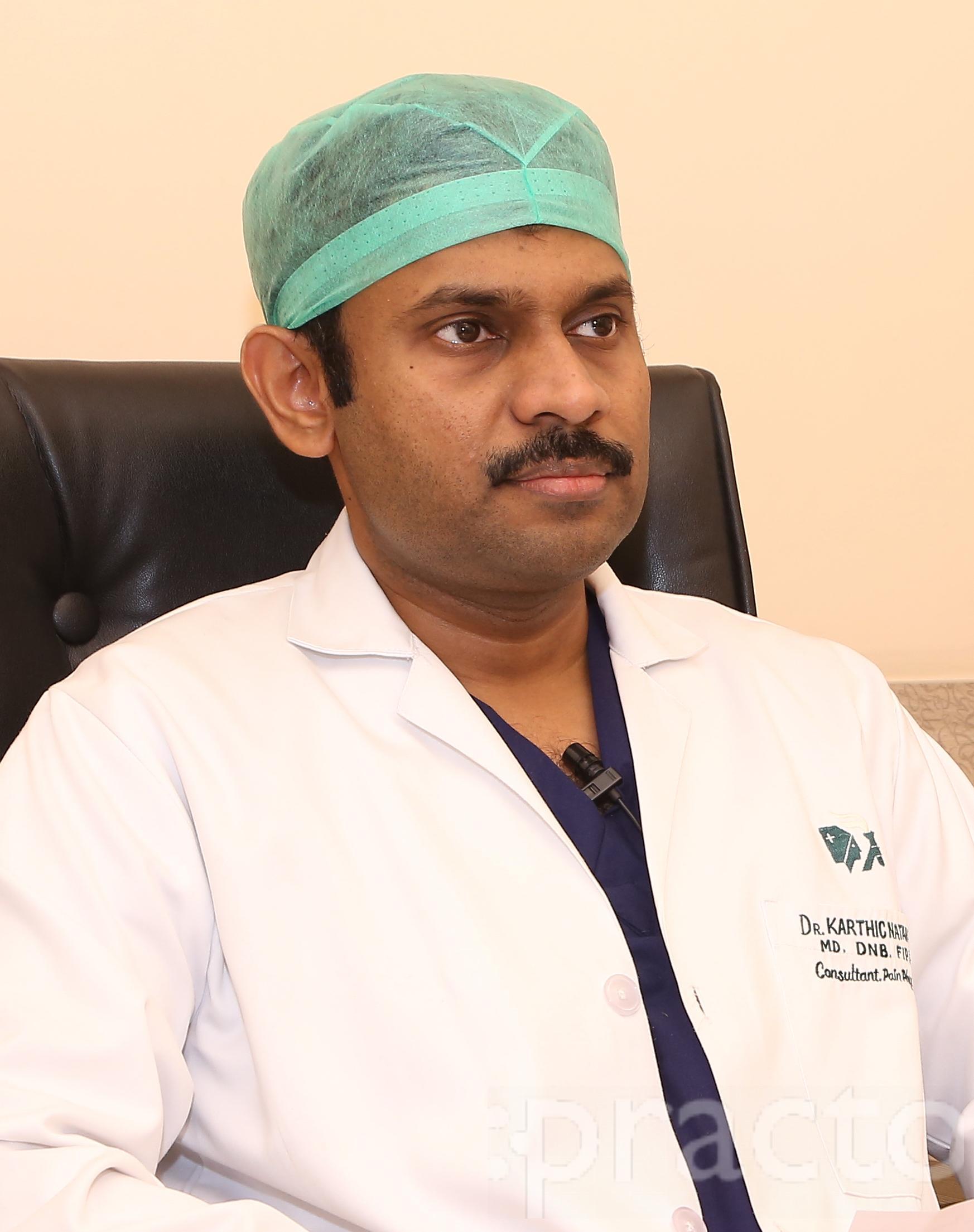 Dr. Karthic Babu Natarajan - Spine and Pain Specialist