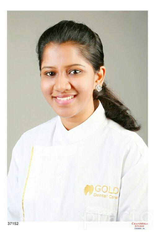 Dr. Madhumitha Ravindran - Dentist