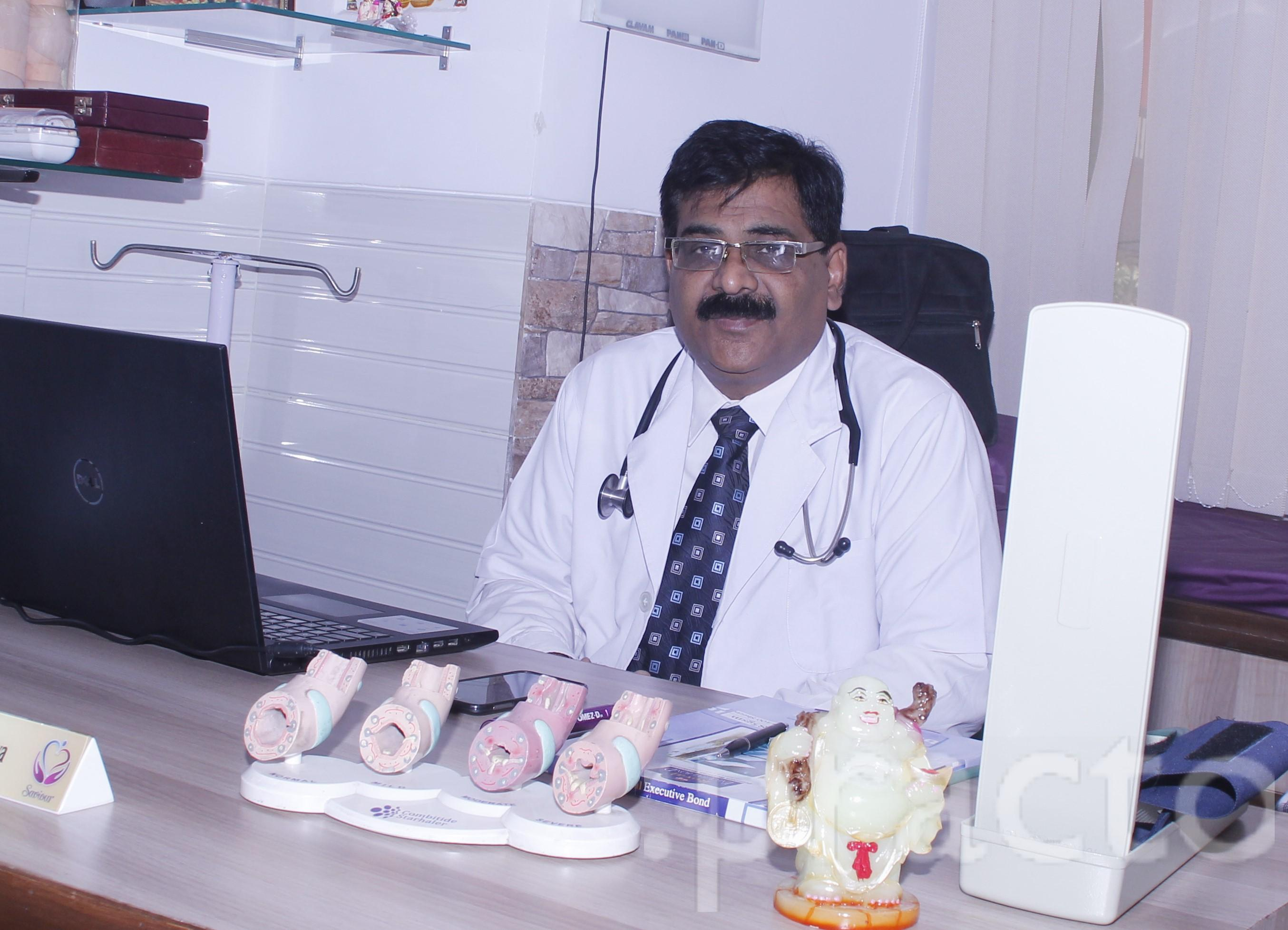 Dr. (Maj.)Sharad Shrivastava - General Physician