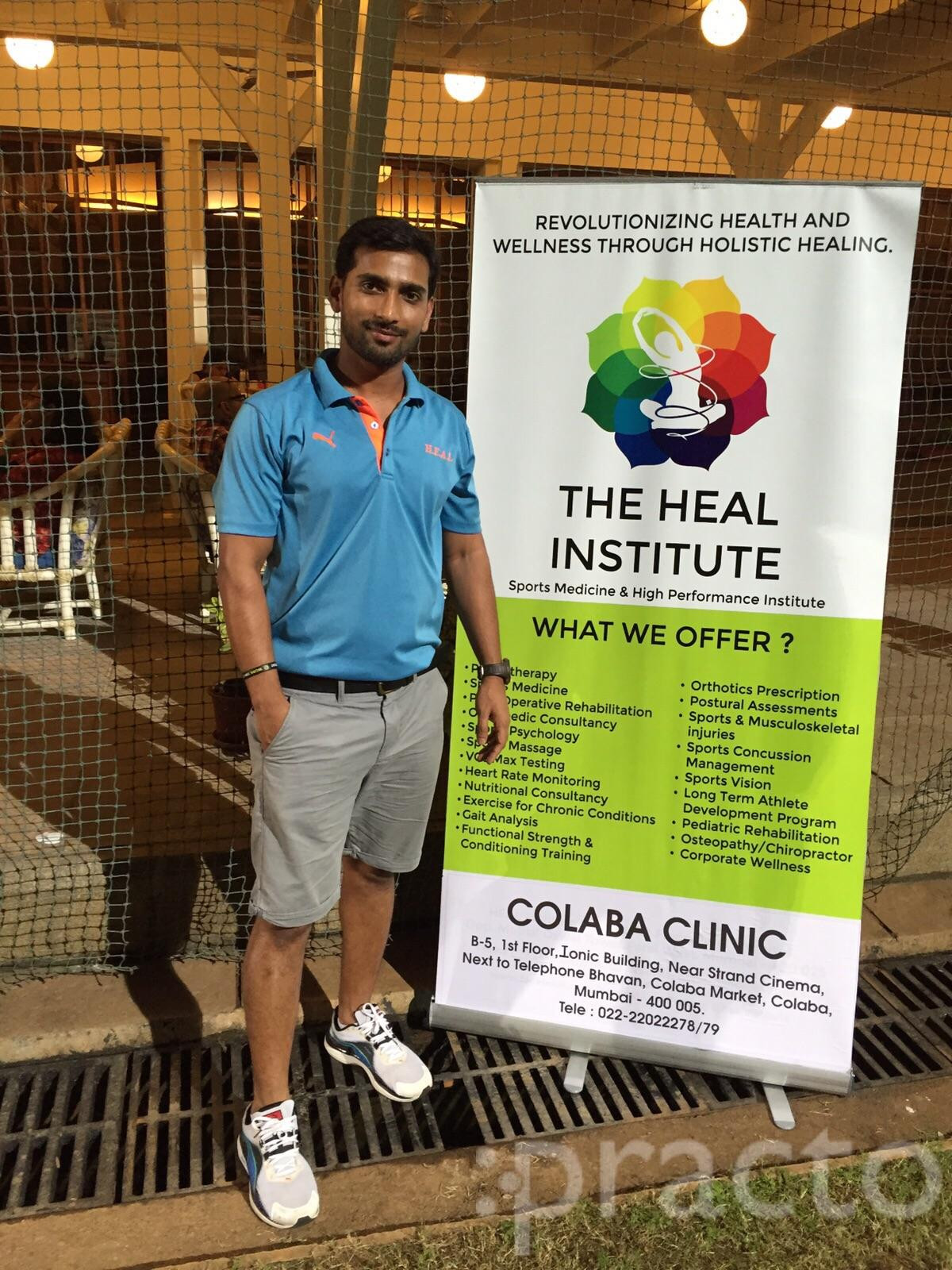 Dr. Manish Singh - Physiotherapist