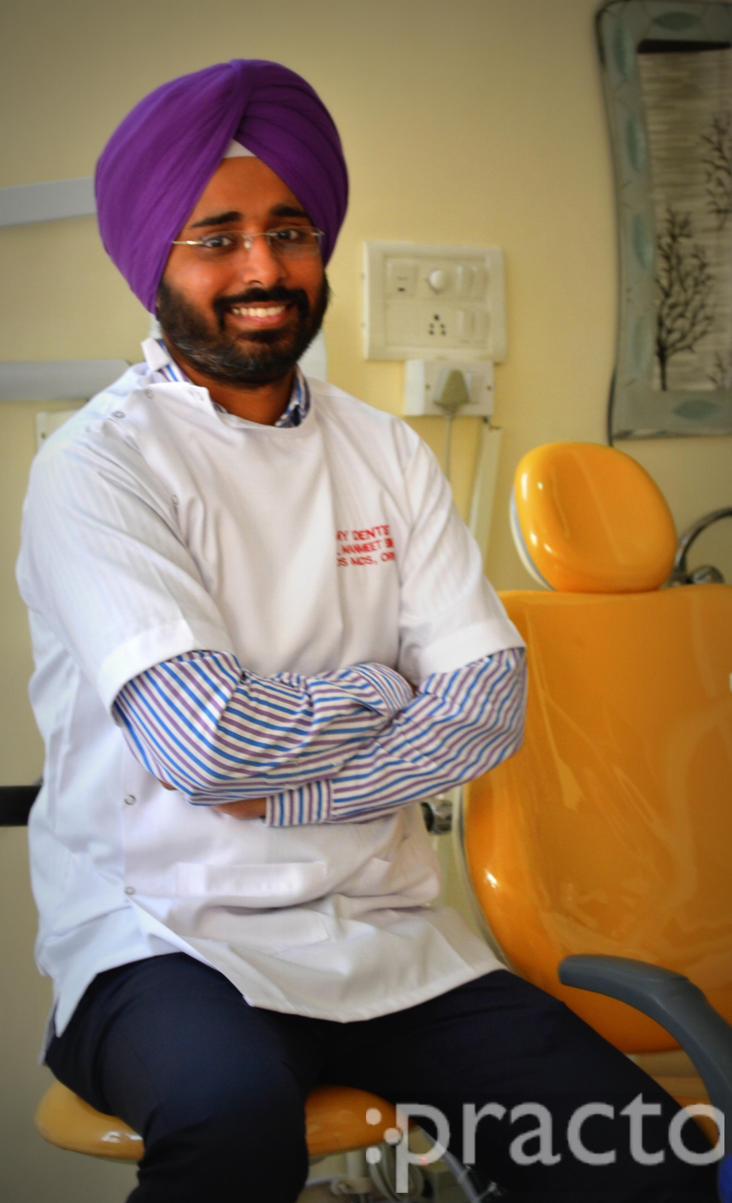 Dr. Manmeet Singh - Dentist