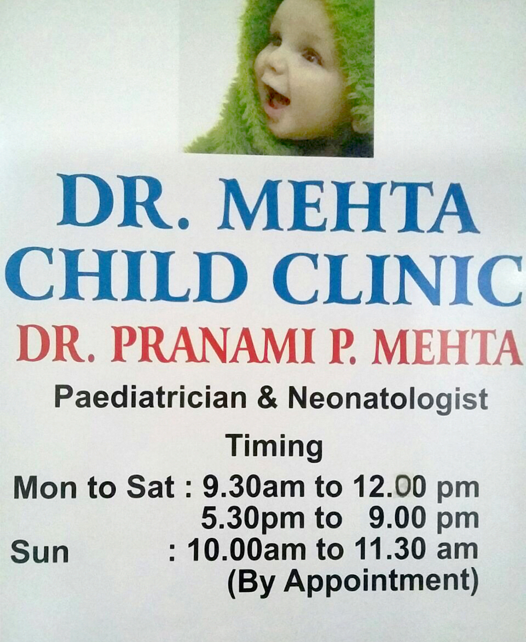 Dr. Mehta Child Clinic