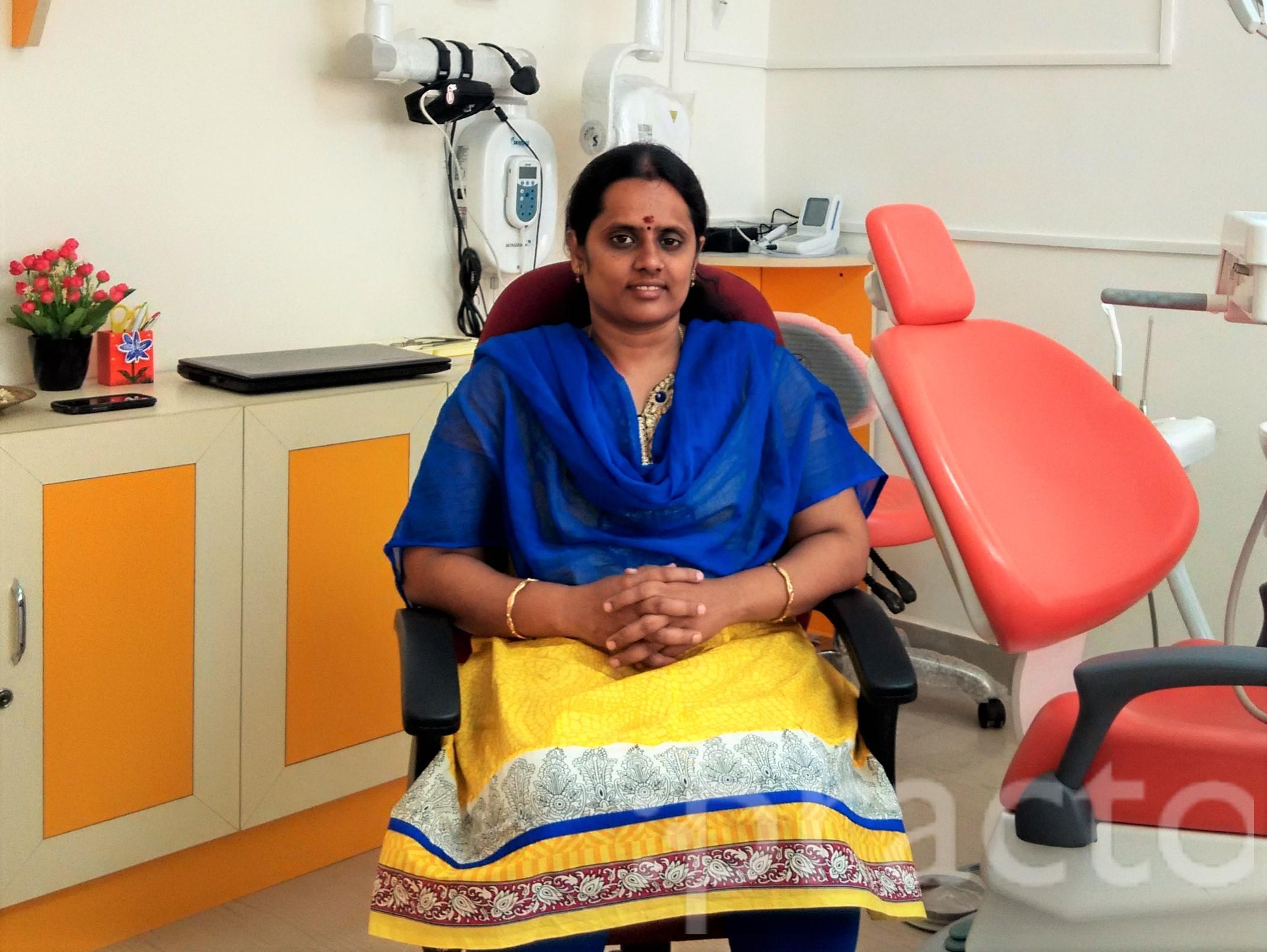 Dr. Nandhini Swamynathan - Dentist