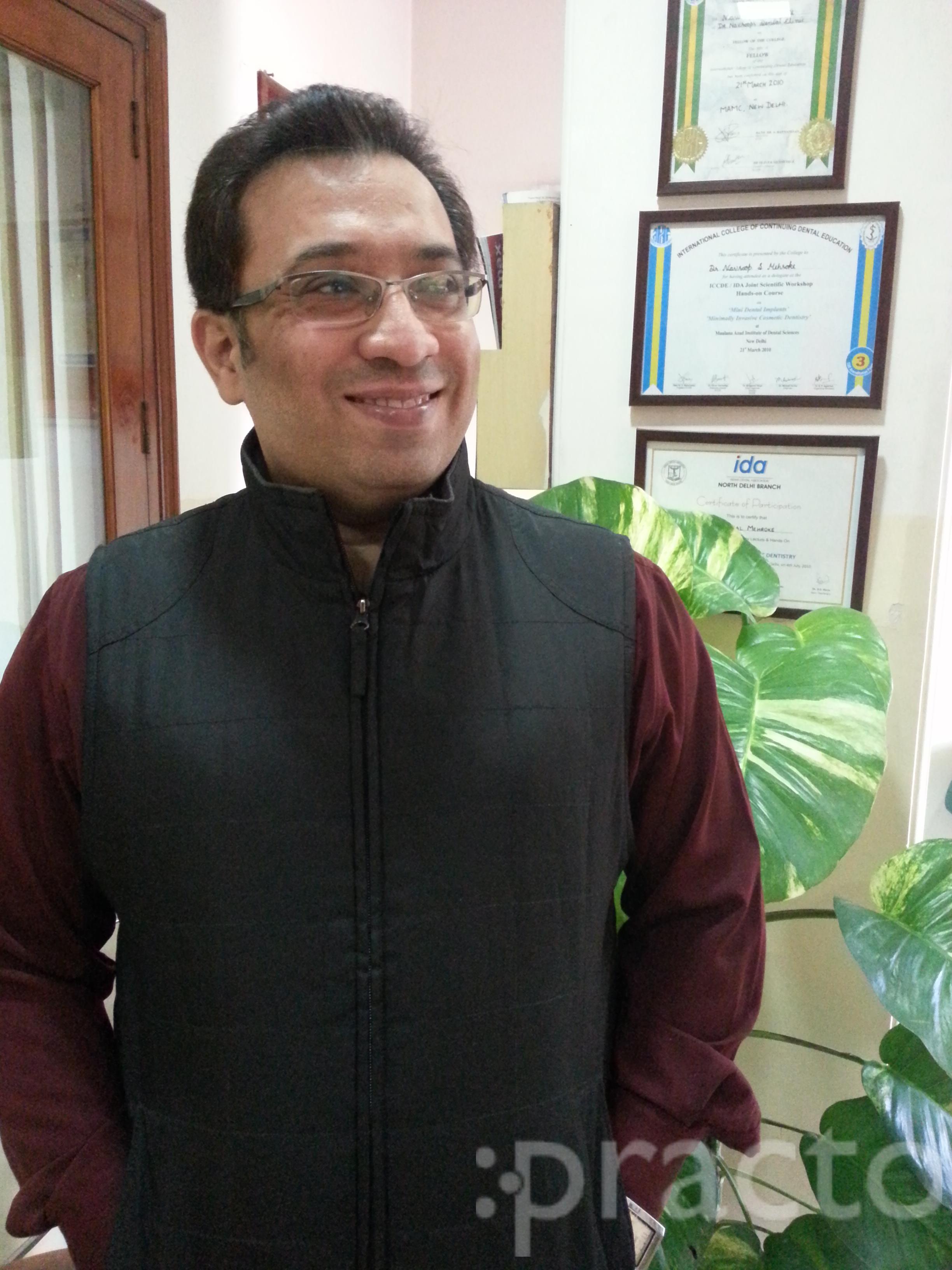 Dr. Navroop Singh Mehroke - Dentist