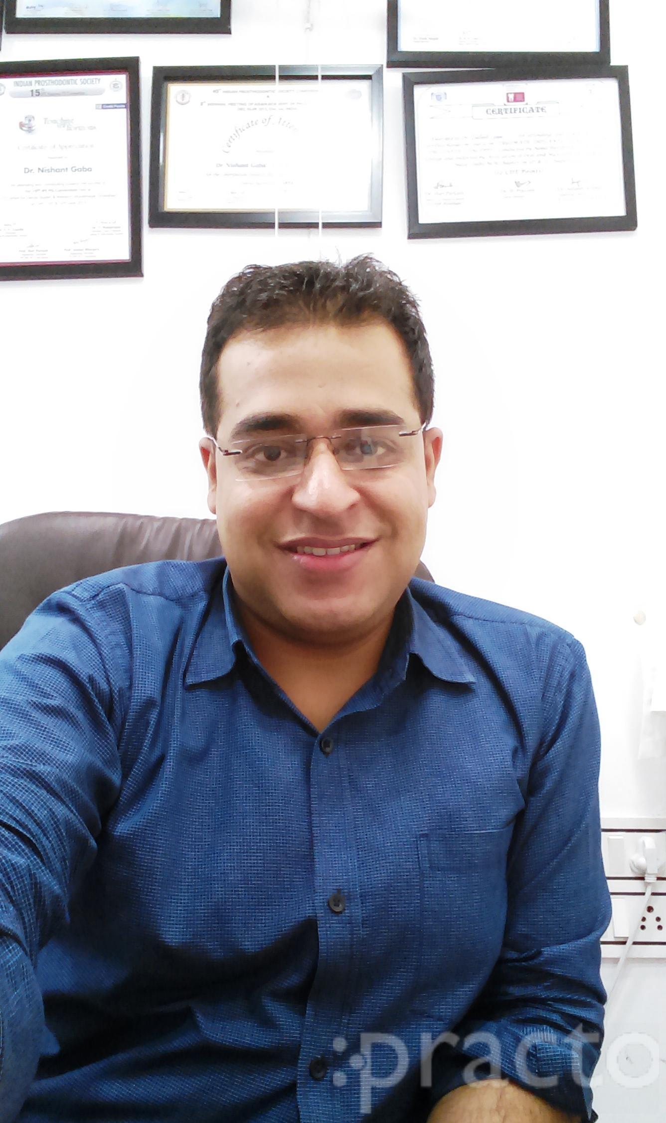 Dr. Nishant Gaba - Dentist