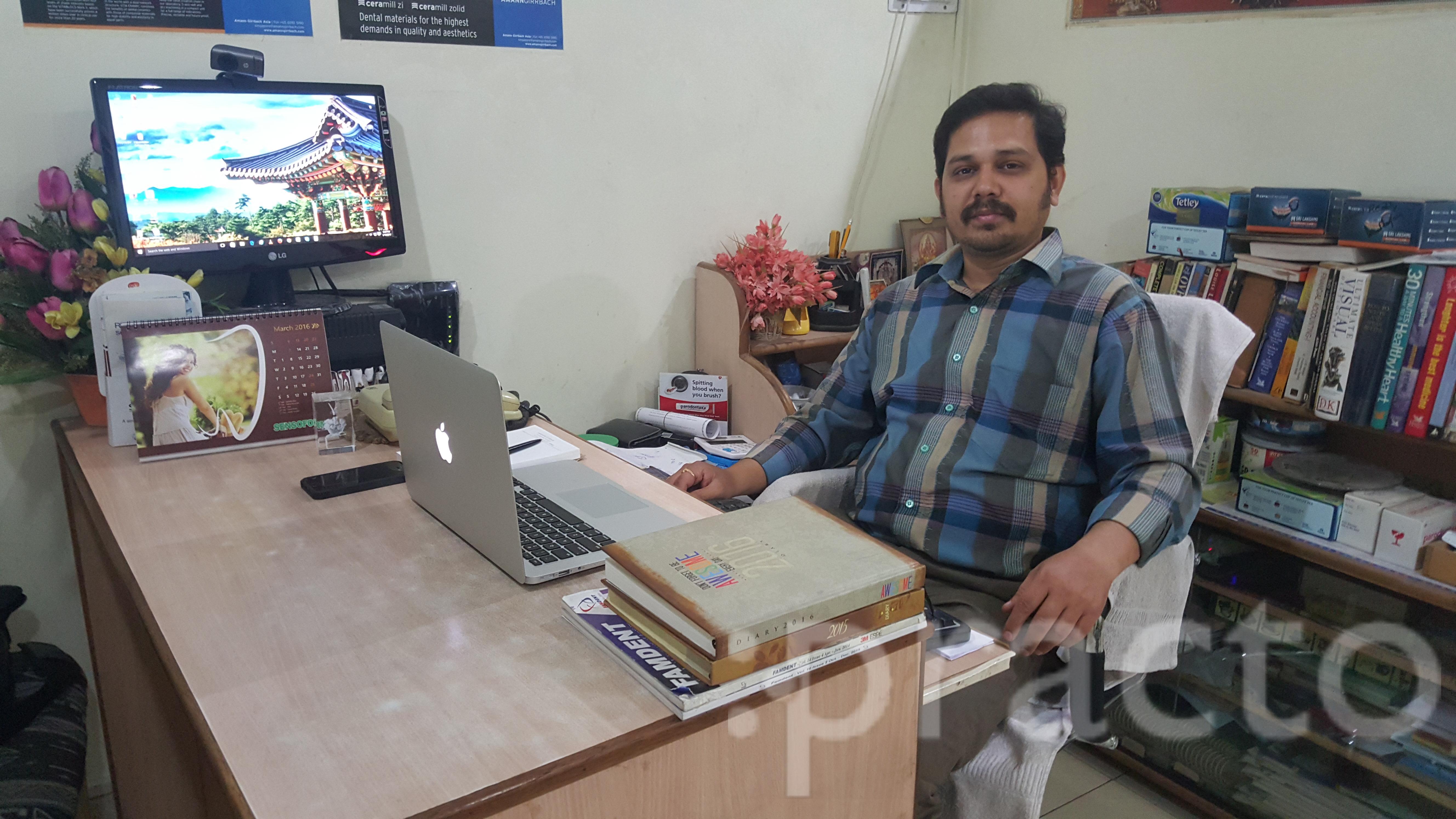 Dr. P Satish Rao - Dentist