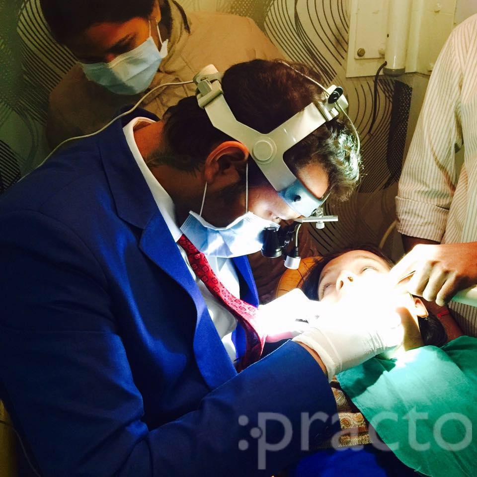 Dr. Pankaj Tripathi - Dentist