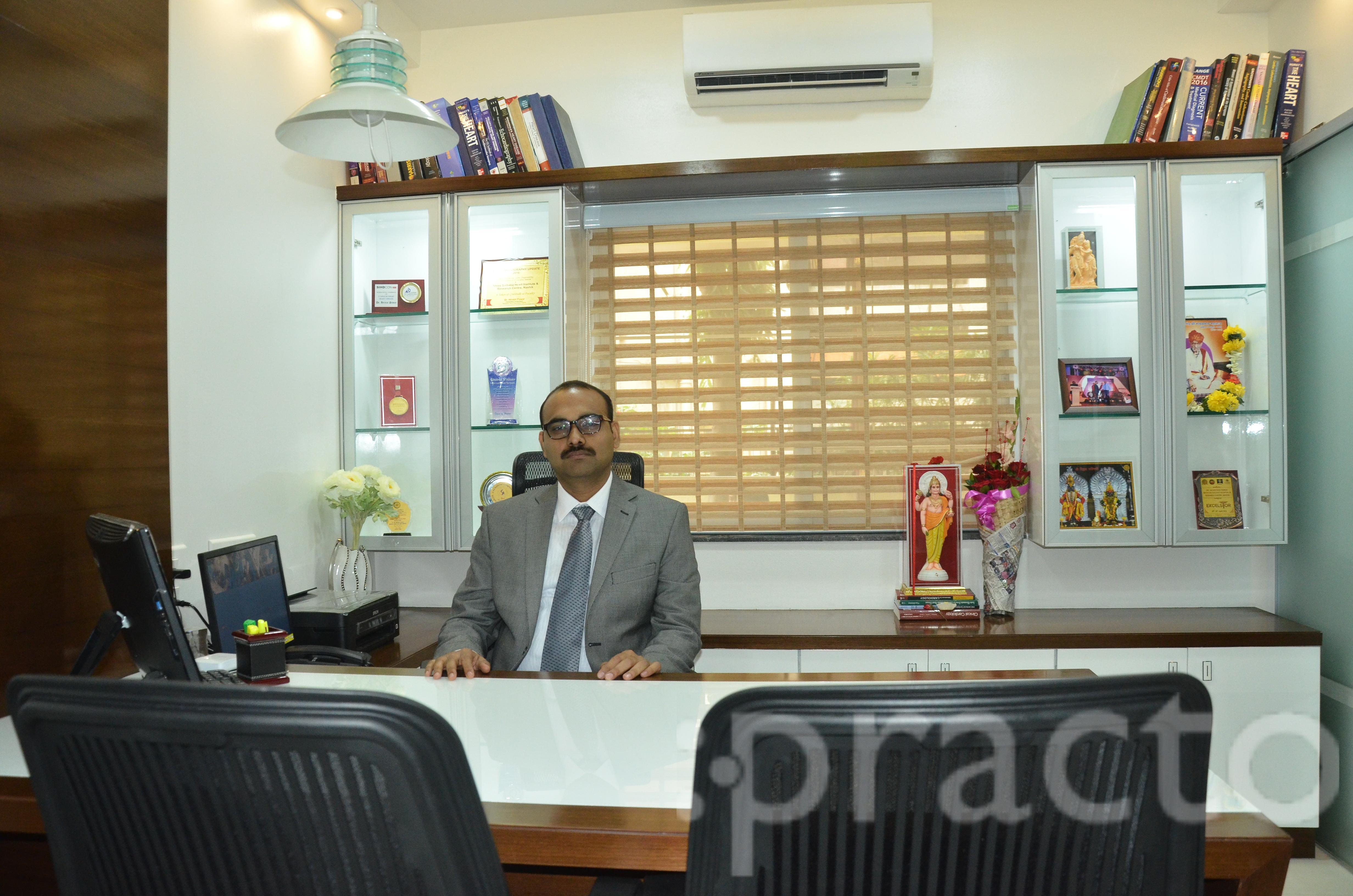 Dr. Pawar Hiralal - Cardiologist