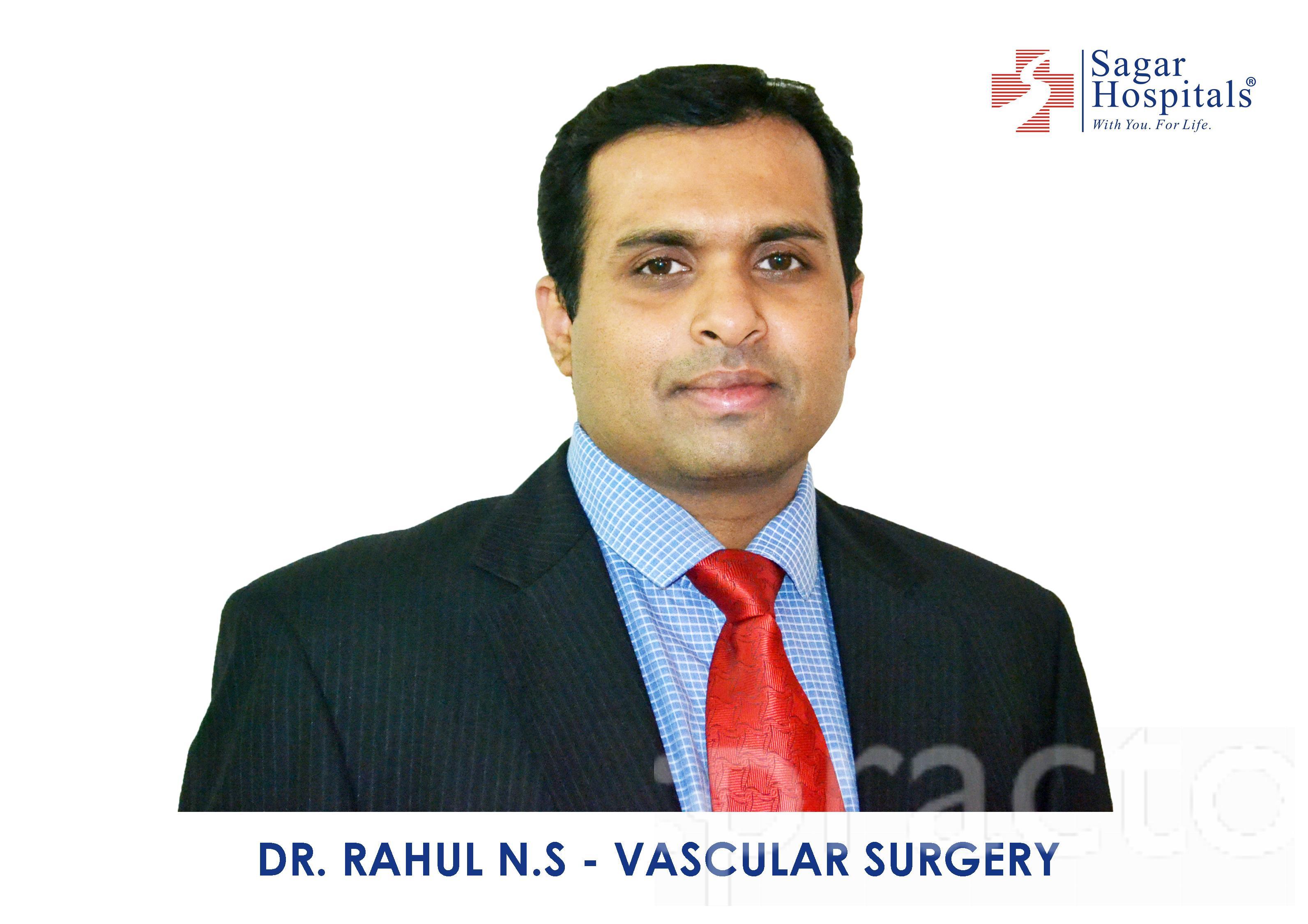 Dr. Rahul.N.S - Vascular Surgeon