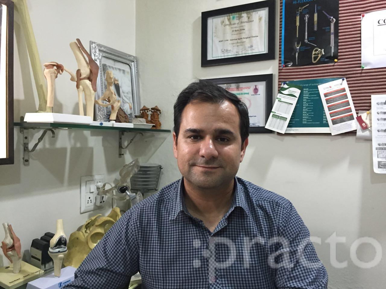 Dr. Rohit Sharma - Orthopedist