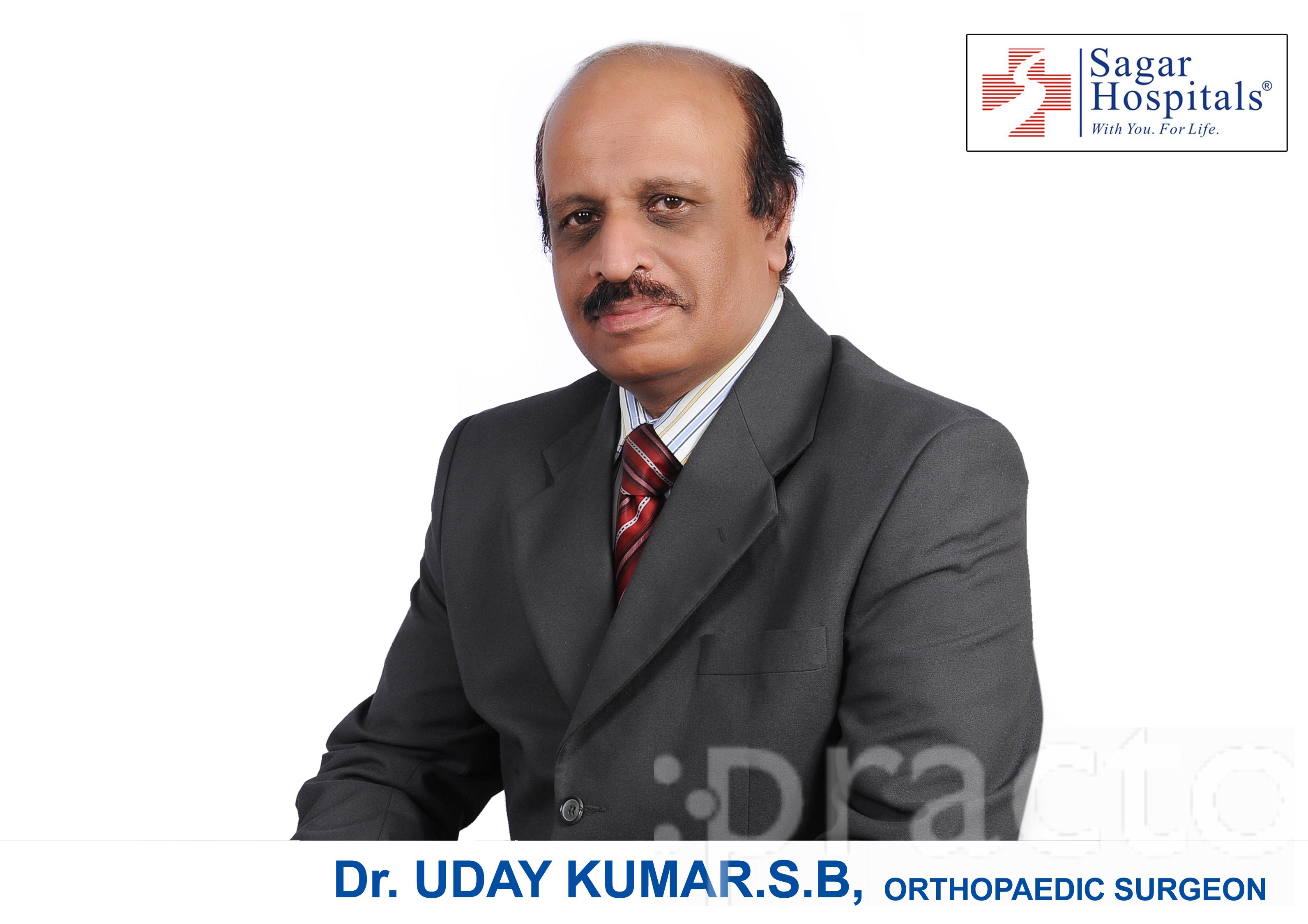 Dr  S B Uday Kumar - Orthopedist - Book Appointment Online