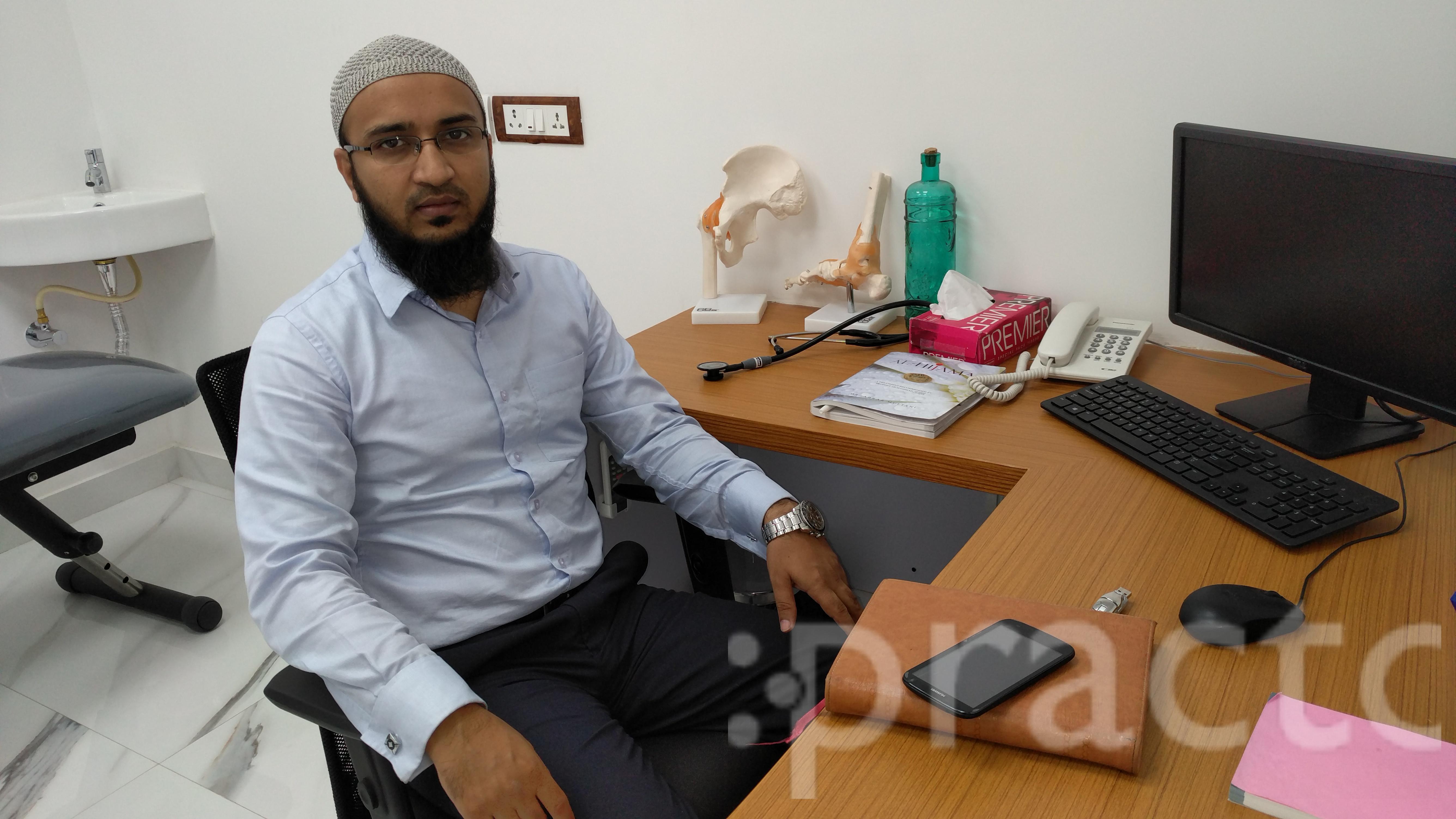 Dr. Syed Tousif Ulla - Dentist
