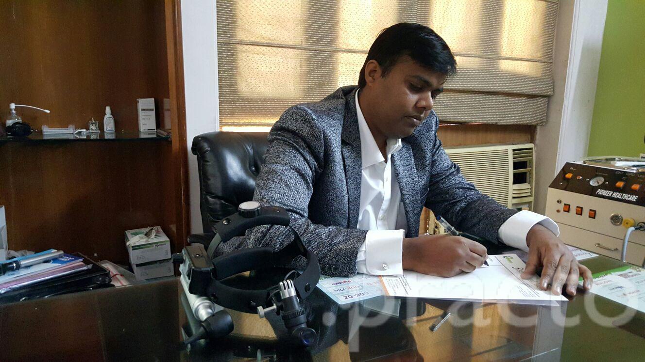 Dr. Vijay Verma - Ear-Nose-Throat (ENT) Specialist