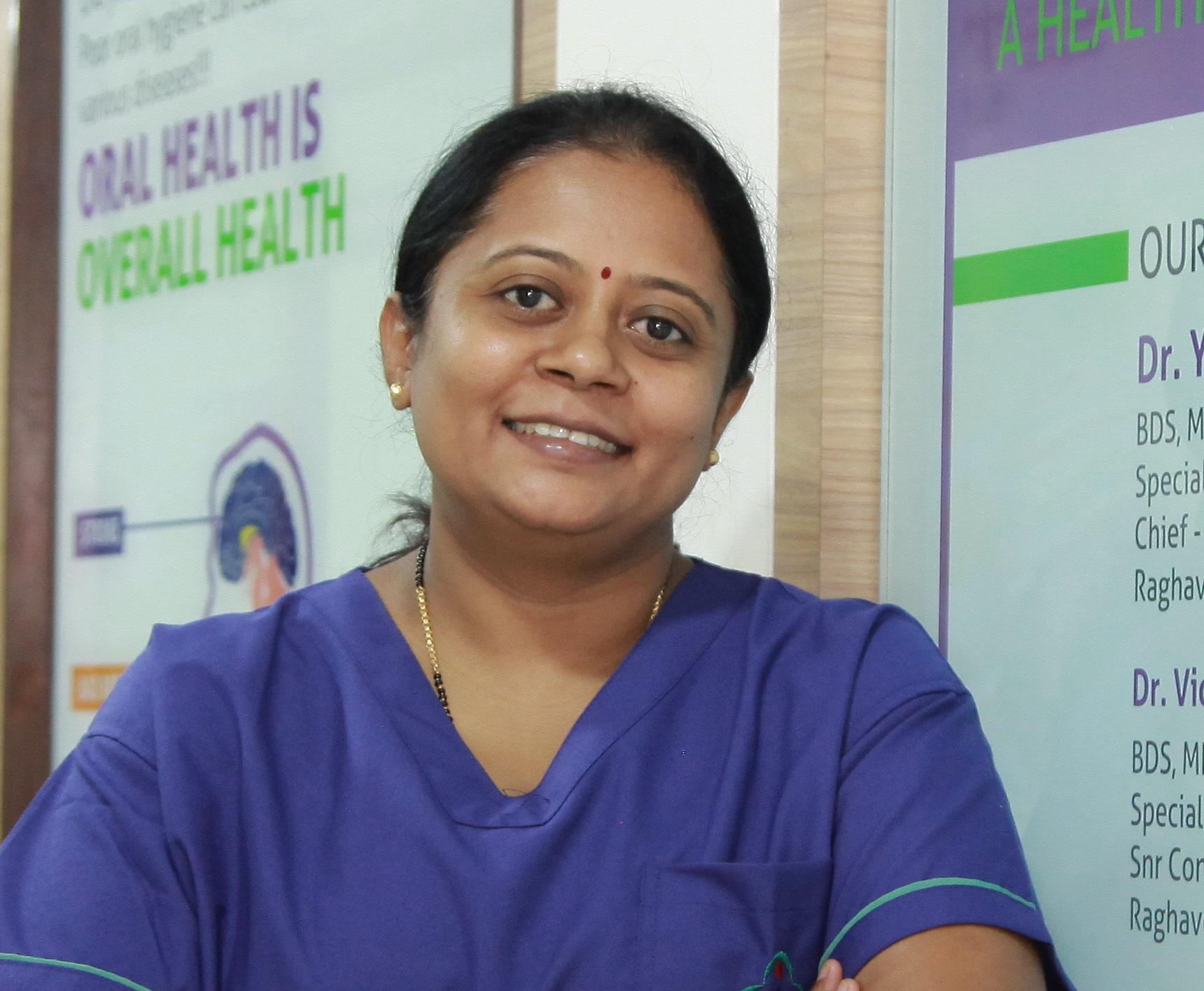 Dr. Yashoda Prakash - Dentist