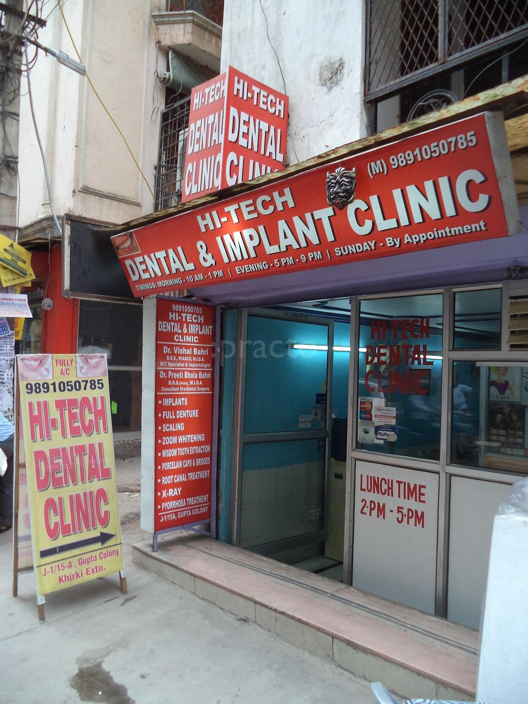 Hi - Tech Dental and Implant Clinic, Dentistry Clinic in Malviya ...