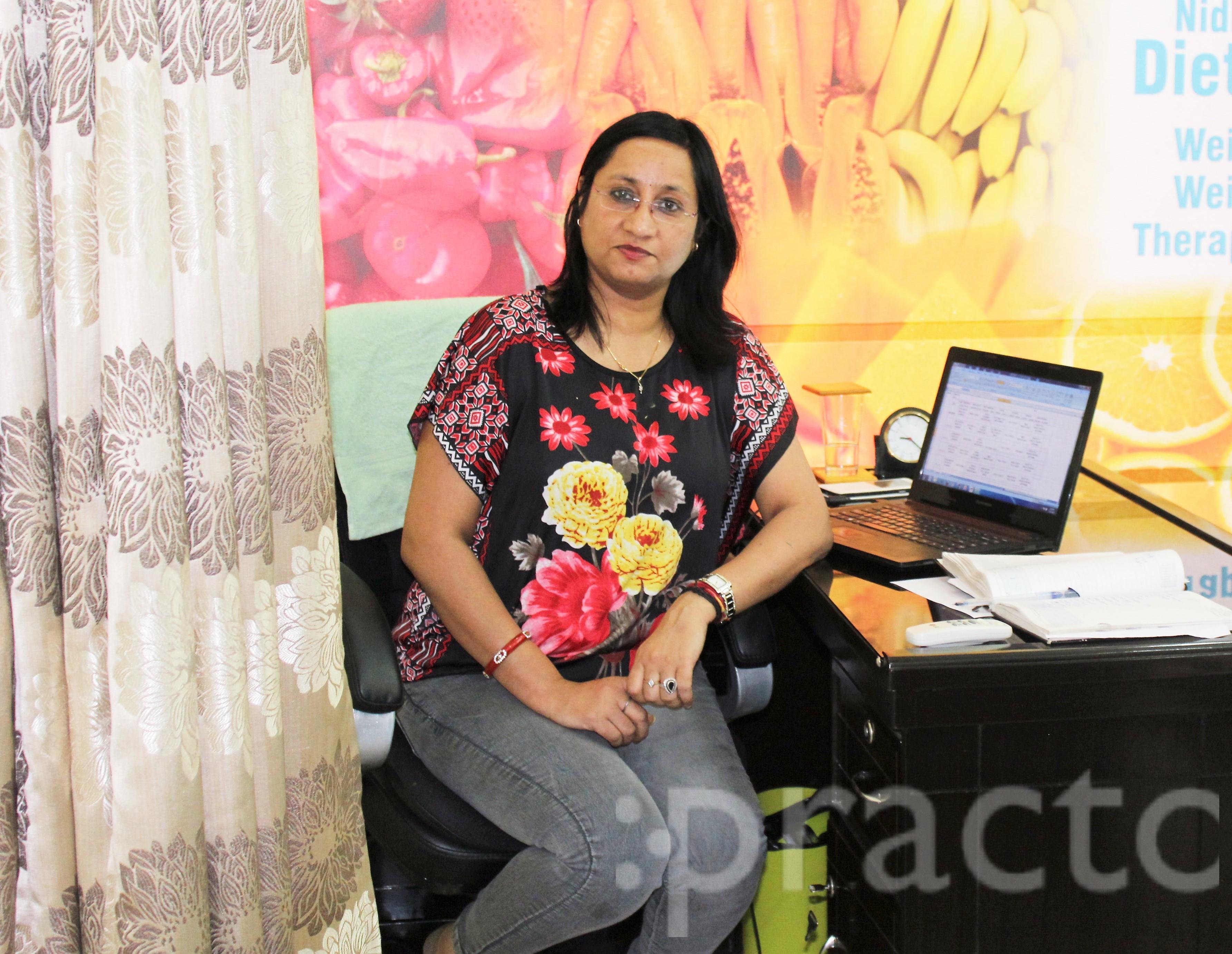 Mrs. Nidhi Bhalla - Dietitian/Nutritionist