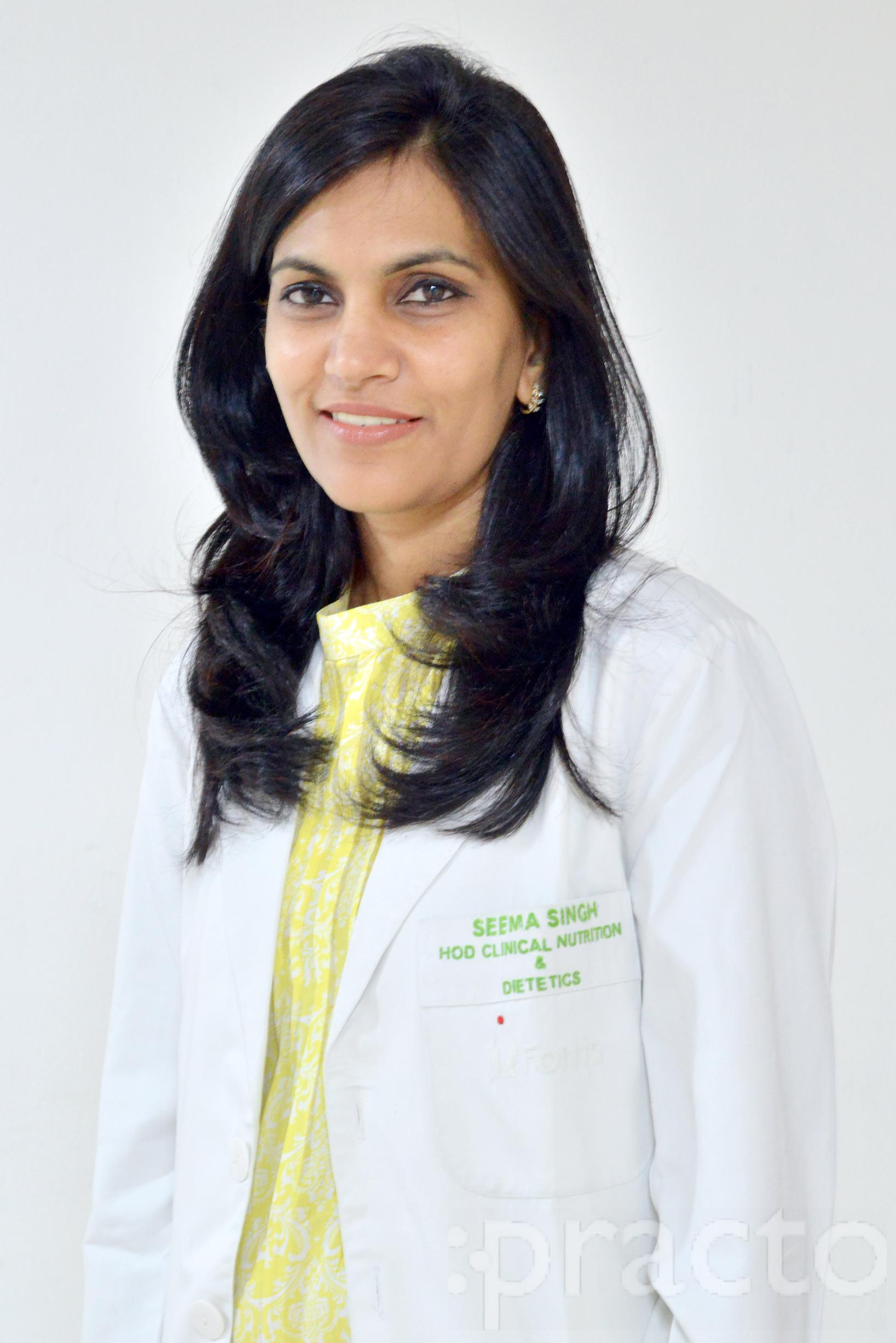 Ms. Seema Singh - Dietitian/Nutritionist