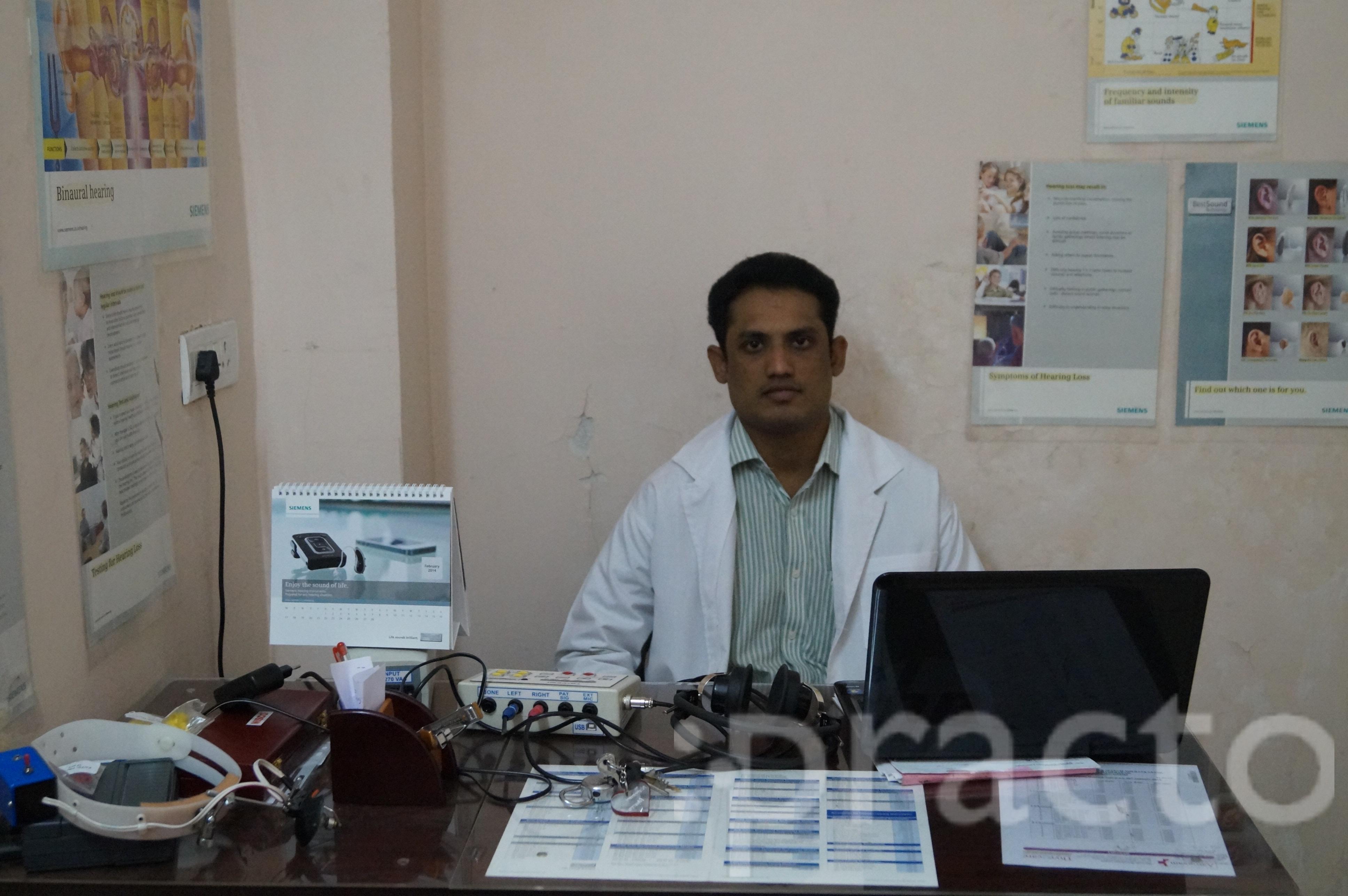 Dr. Nagender Kankipati - Audiologist