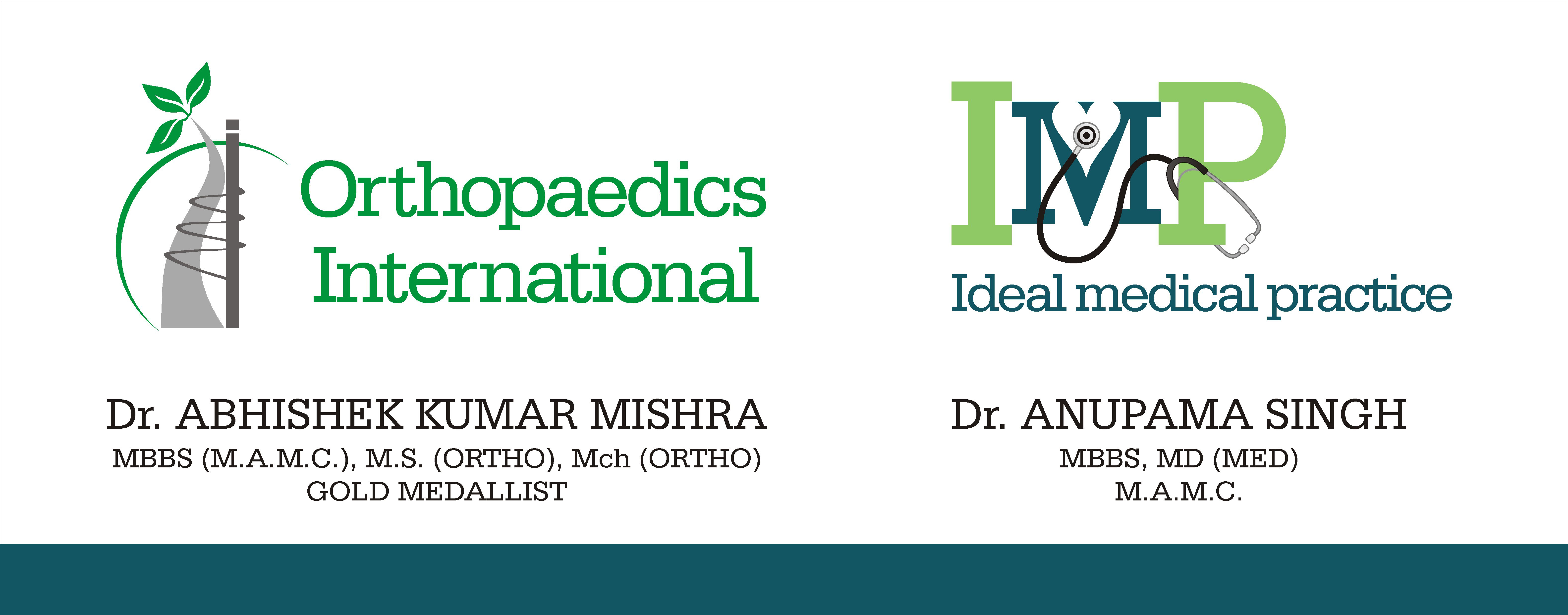 Dr. Abhishek Kumar Mishra Orthopaedics International