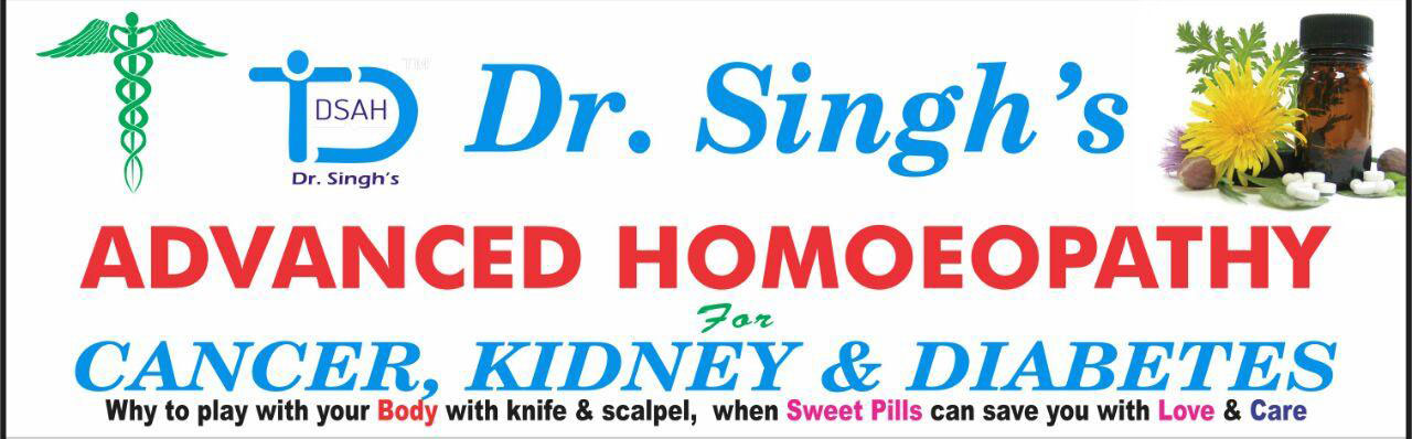 Dr.Singh's Advanced Homoeopathy for Cancer Kidney & Diabetes